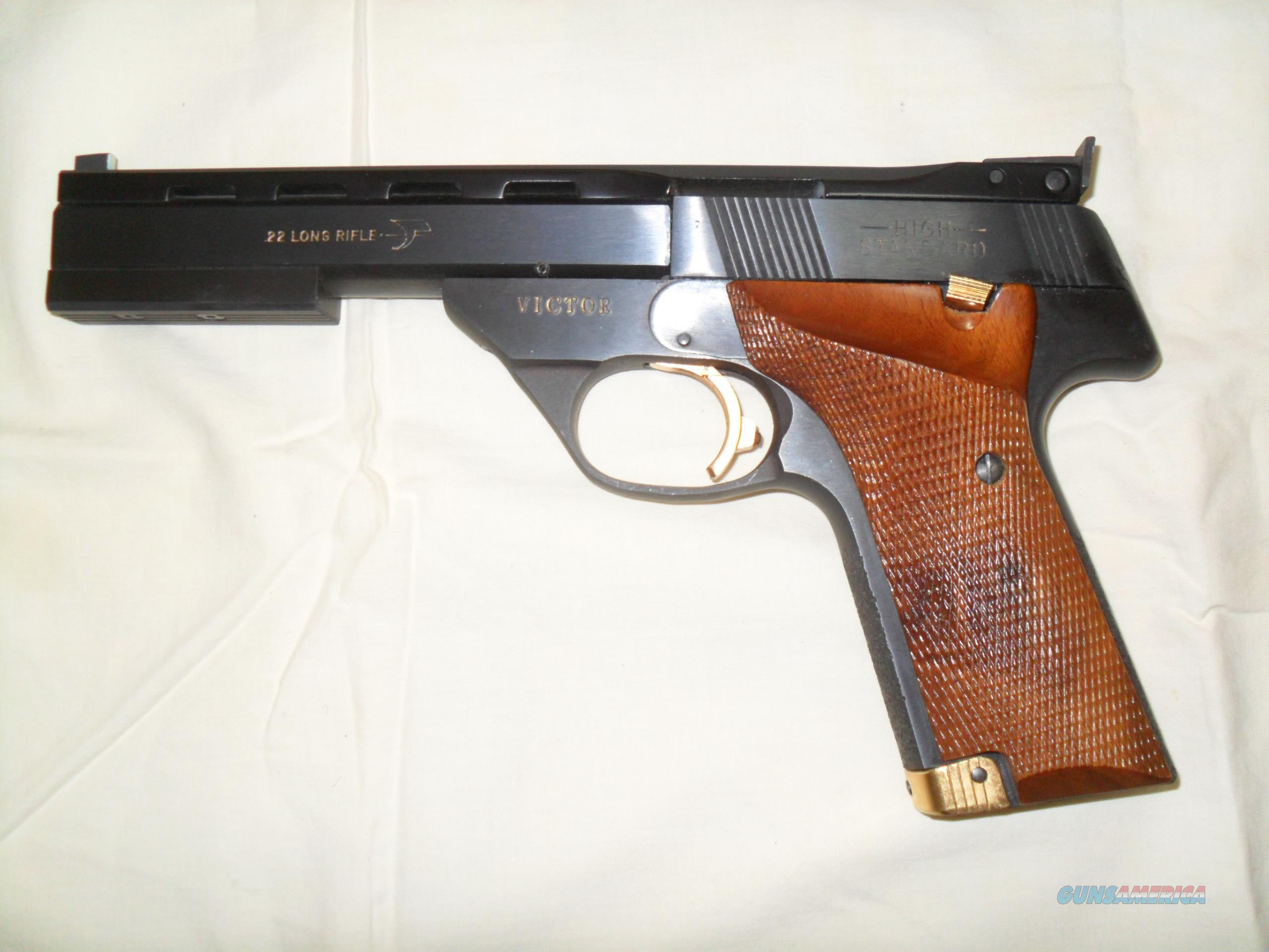High Standard Victor .22 Target Pistol 5.5inch Barrel   Guns > Pistols > High Standard Pistols