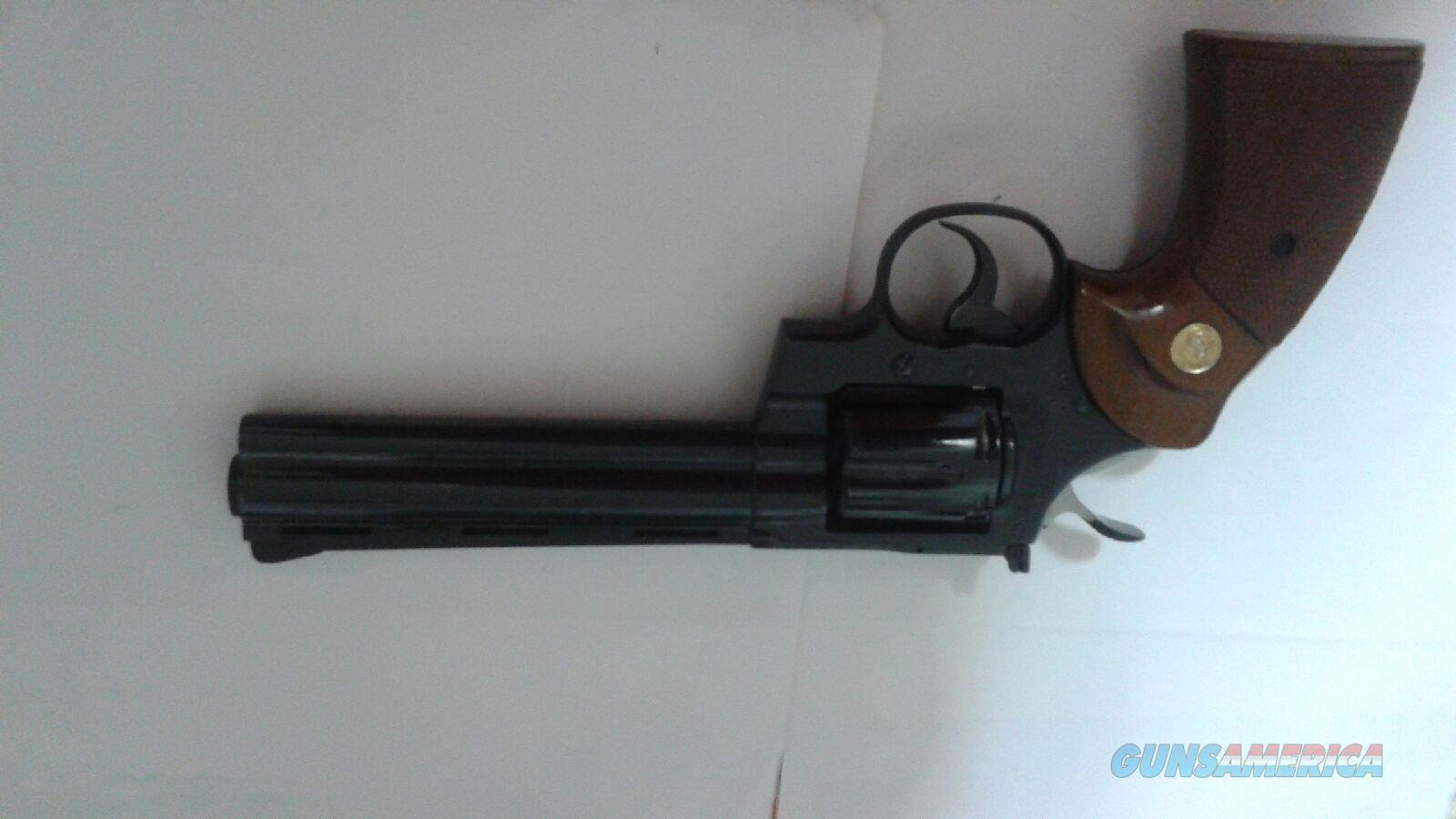 Colt Python .357 magnum 6 in Bbl manufactured 1974 id E783 blue  Guns > Pistols > Colt Double Action Revolvers- Modern