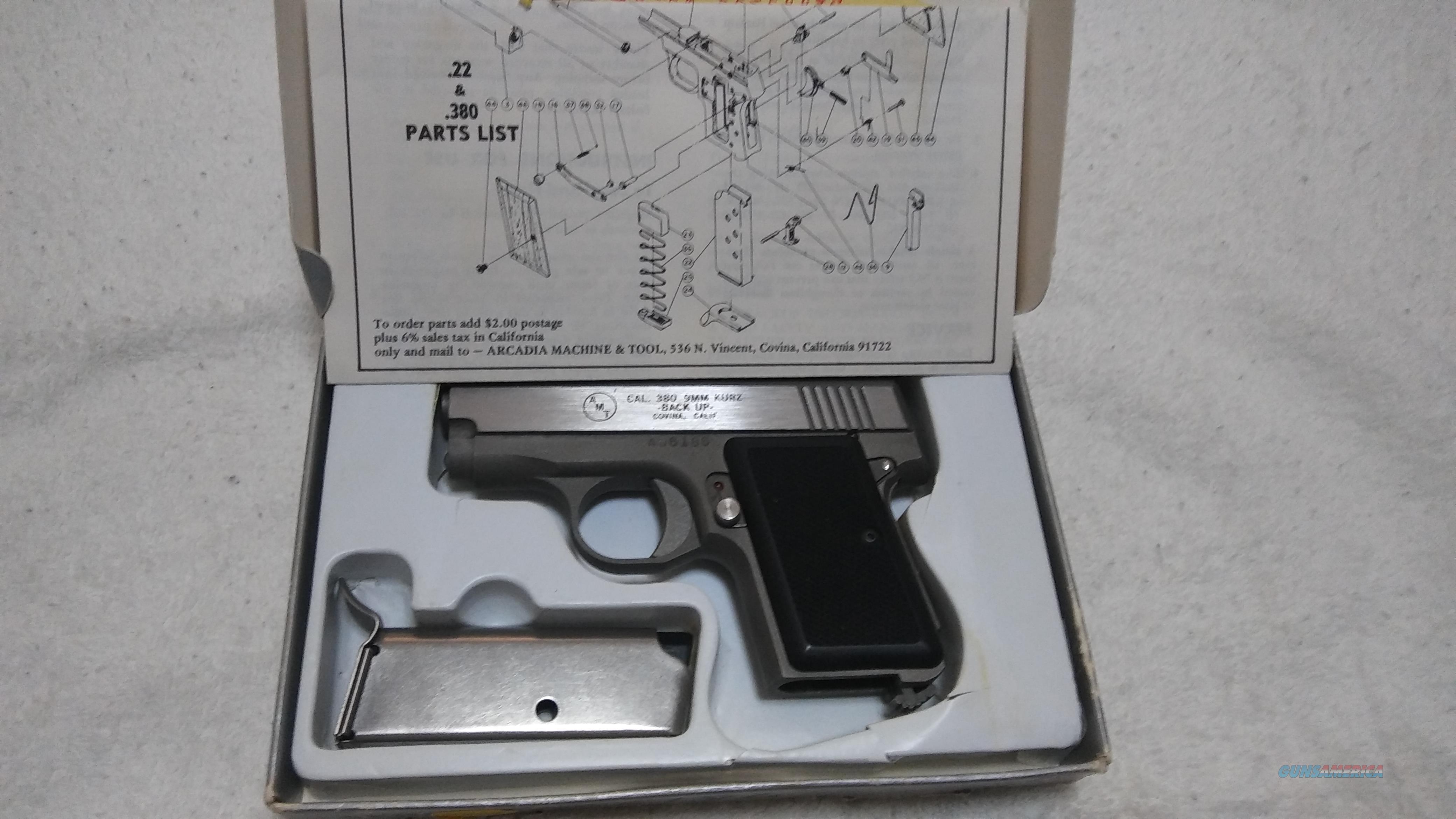 AMT 380 back up new in a box  Guns > Pistols > AMT Pistols > 1911 copies