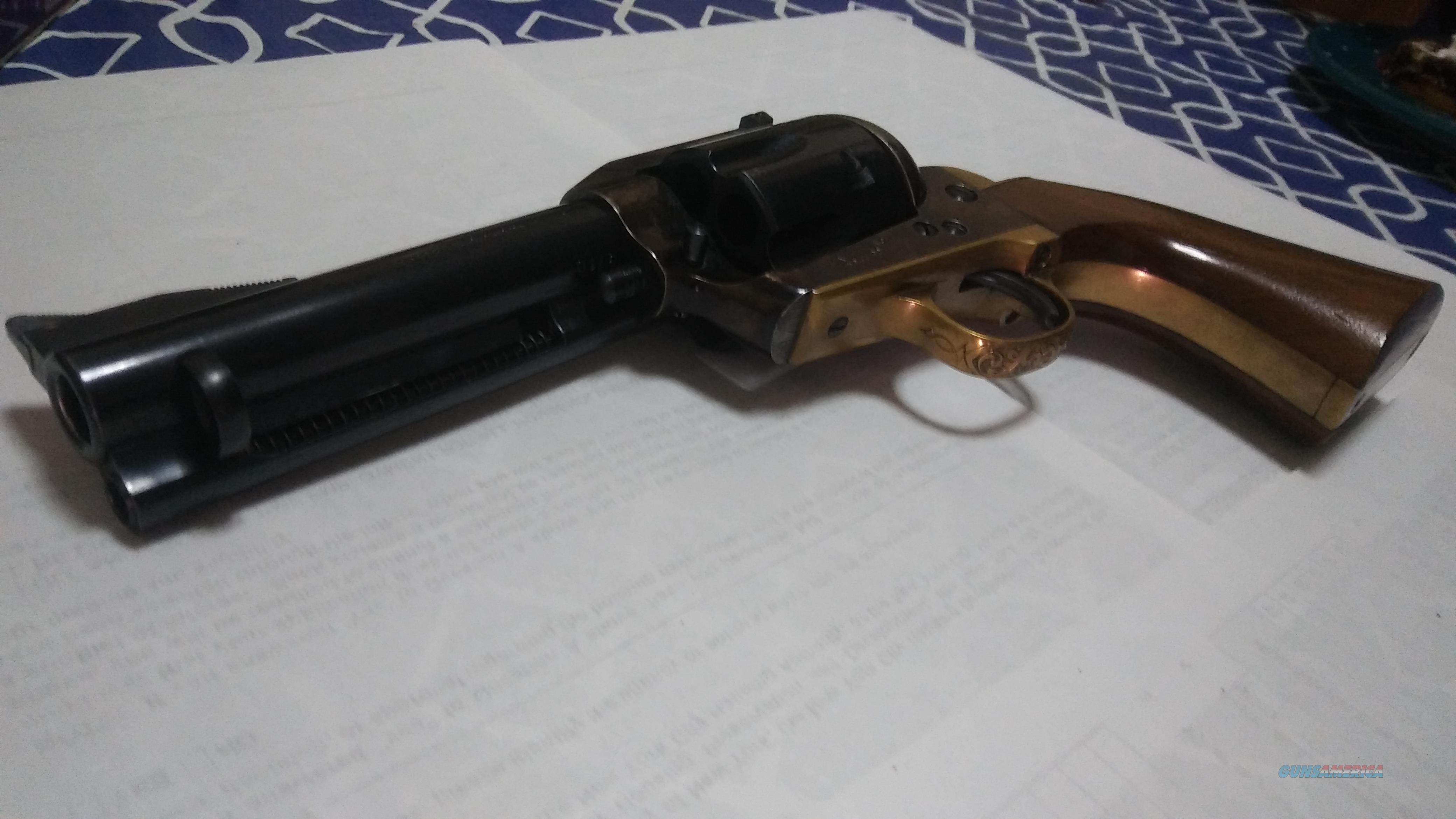 Uberti .44 mag brass frame SA  4 1/2 in barrel cattleman model  Guns > Pistols > Uberti Pistols > Ctg.