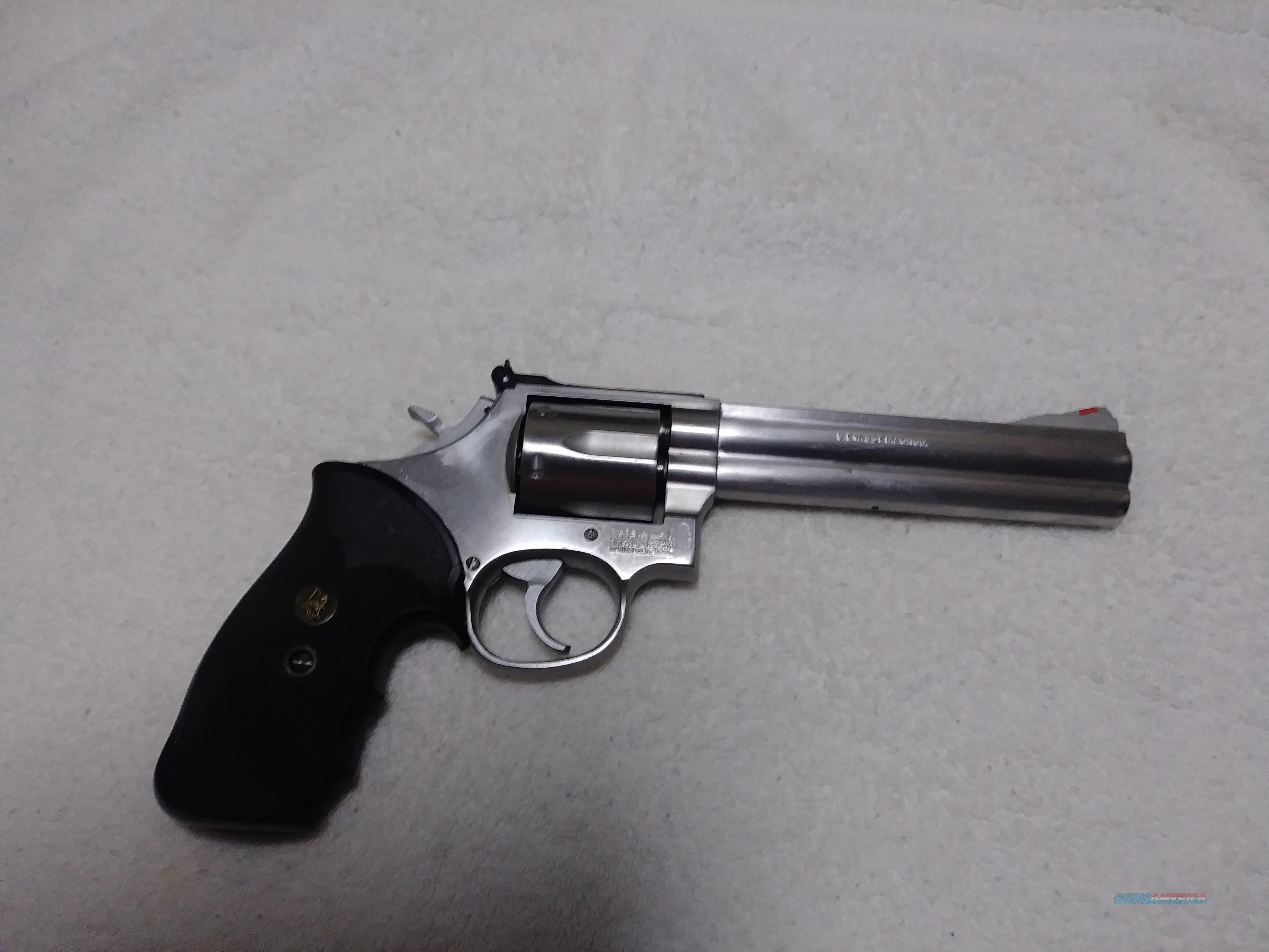 S and W model 686 - 1 SS 6 inch  Guns > Pistols > Smith & Wesson Revolvers > Med. Frame ( K/L )