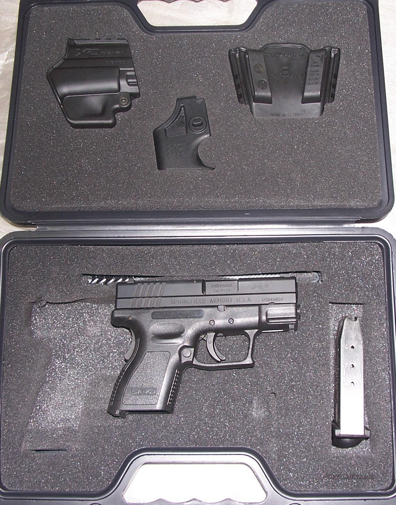Springfield XD9 Sub-Compact 9mm  Guns > Pistols > Springfield Armory Pistols > XD (eXtreme Duty)