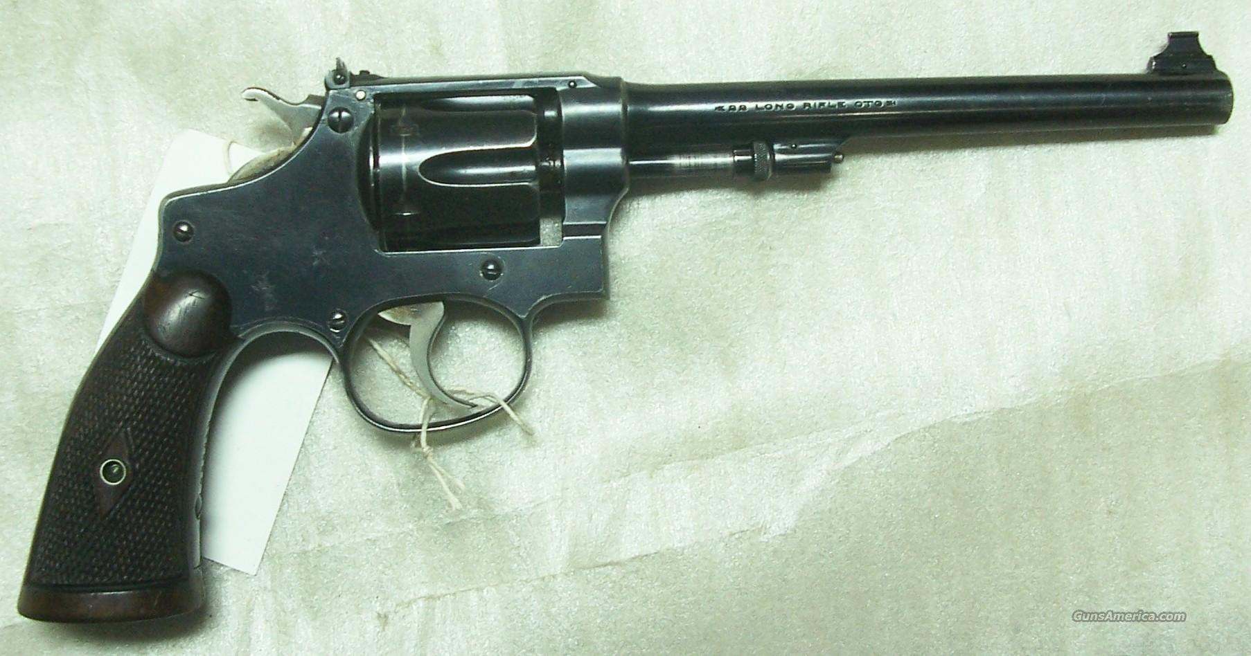 Smith&Wesson 22-32 Hand Ejector  Guns > Pistols > Smith & Wesson Revolvers > Full Frame Revolver