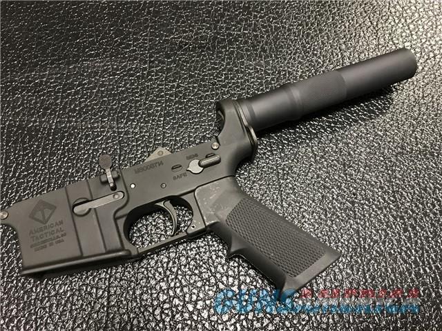 ATI MilSport Pistol Lower M16 Cut AR-15 Aluminum colt/Not NFA/ not Full auto RARE!  Guns > Pistols > American Tactical Imports Pistols
