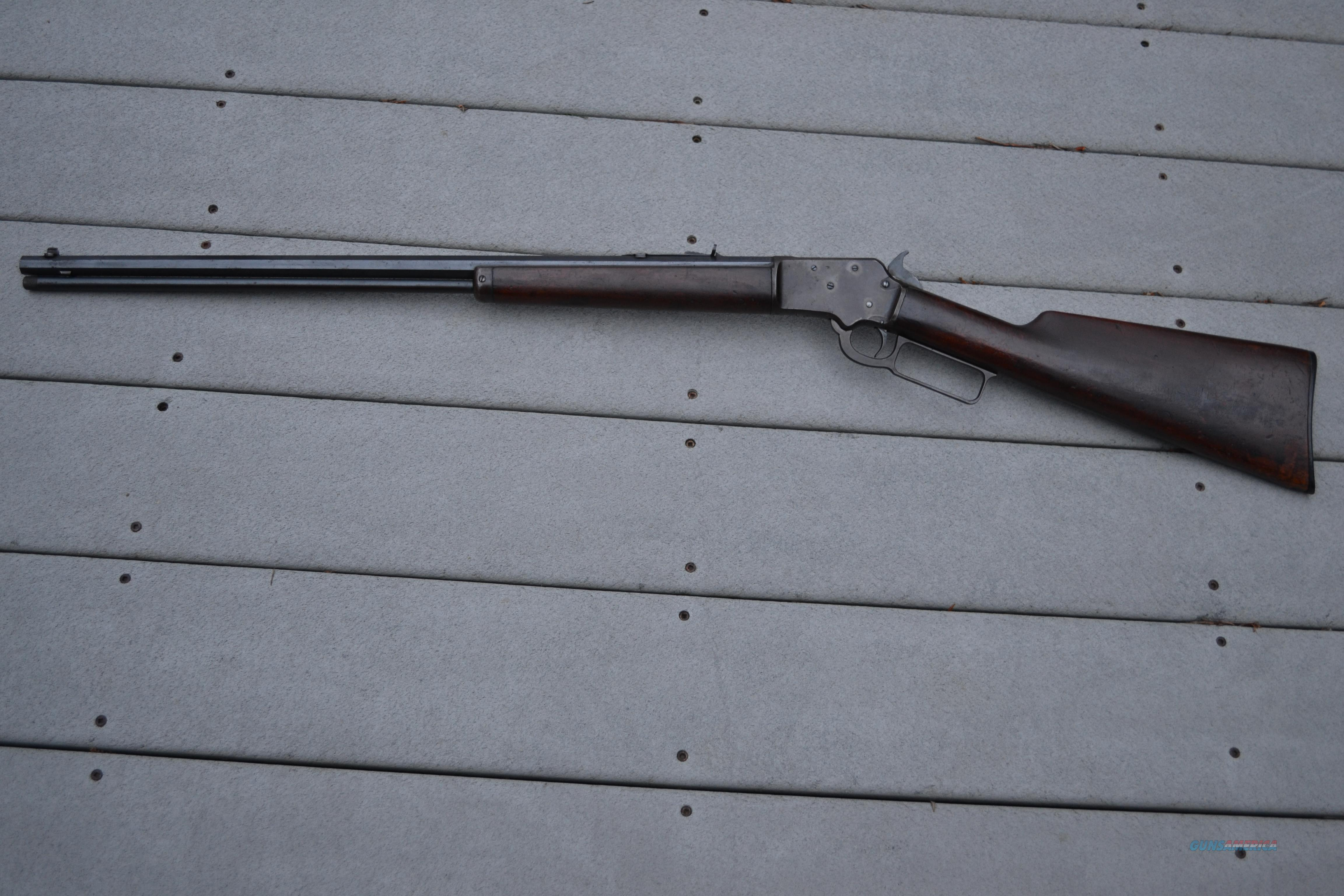 Marlin 1897 Lever 22 S, L, LR  Guns > Rifles > Marlin Rifles > Pre-1899