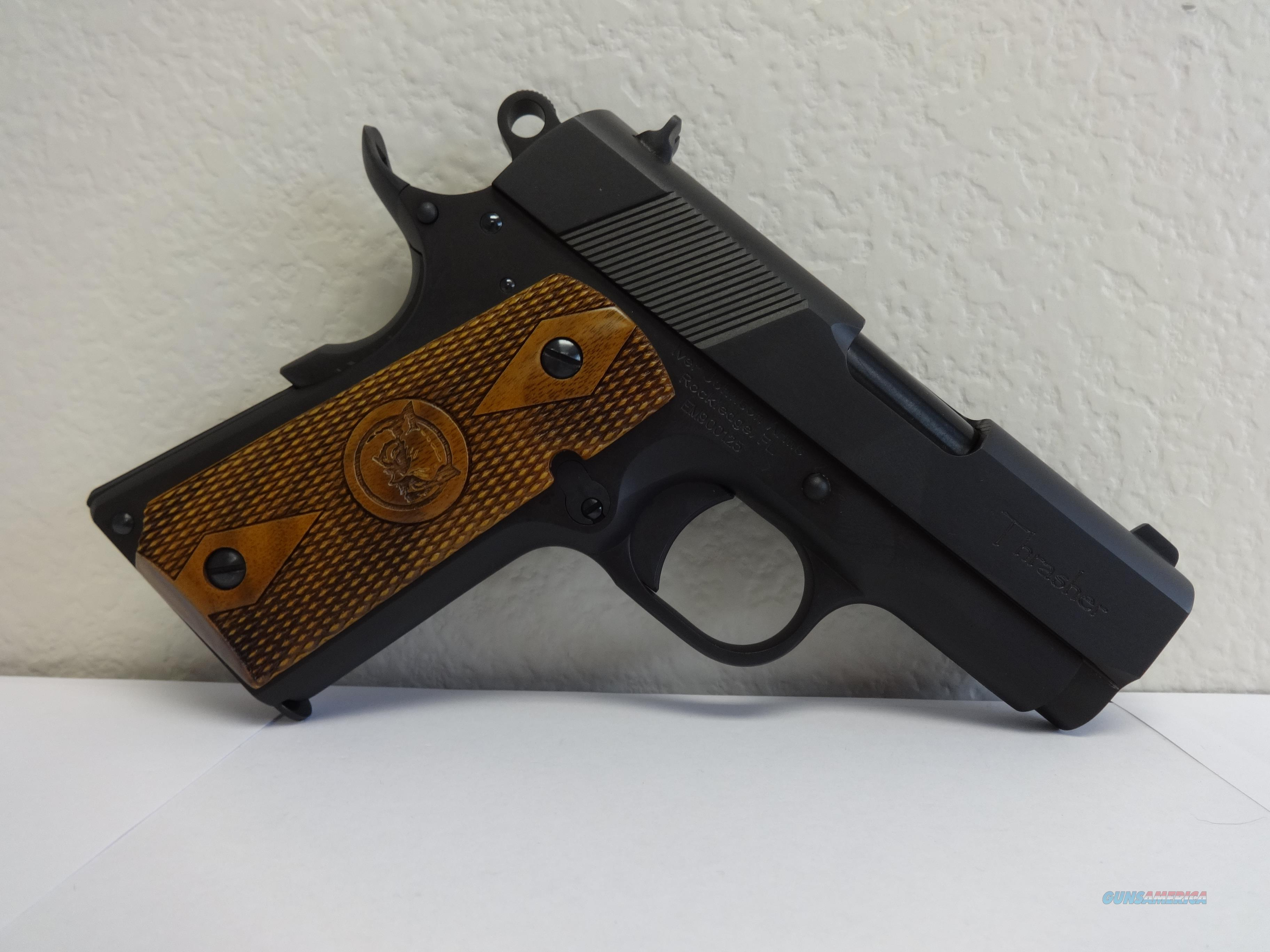 Iver Johnson Thrasher Matte Blue 45 ACP NIB  Guns > Pistols > 1911 Pistol Copies (non-Colt)