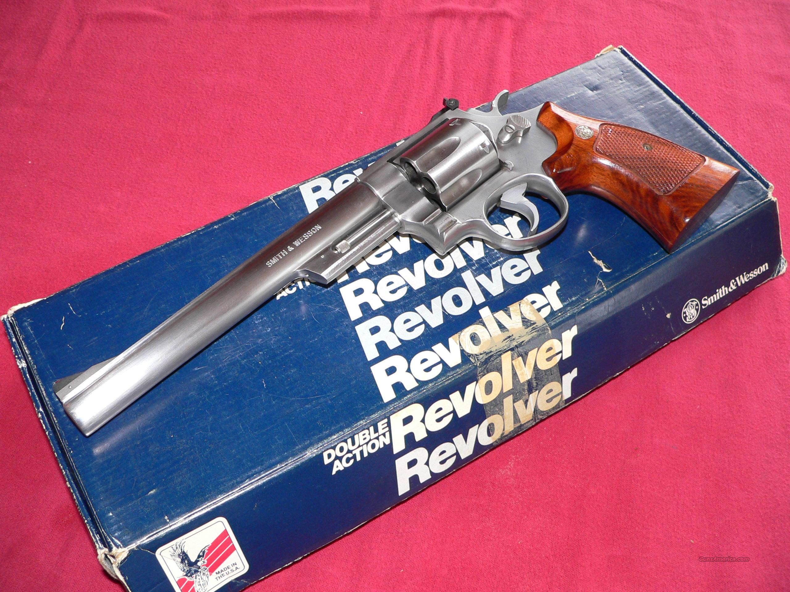 Smith & Wesson Model 657, cal. 41 Magnum Stainless Revolver  Guns > Pistols > Smith & Wesson Revolvers > Full Frame Revolver