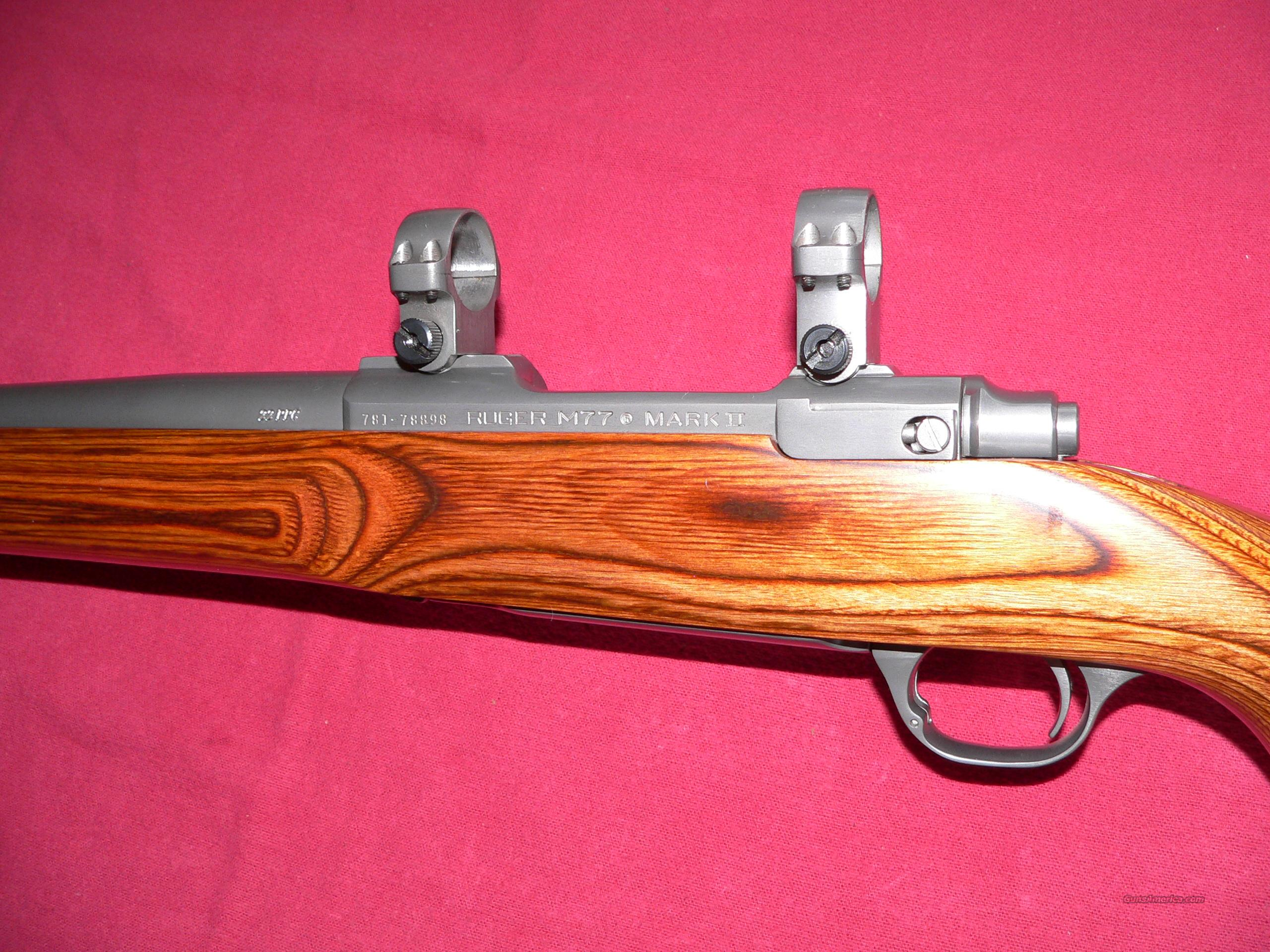 Ruger Model 77VT Mk. II cal. 22 PPC (discontinued 1996) Bolt-action Rifle  Guns > Rifles > Ruger Rifles > Model 77