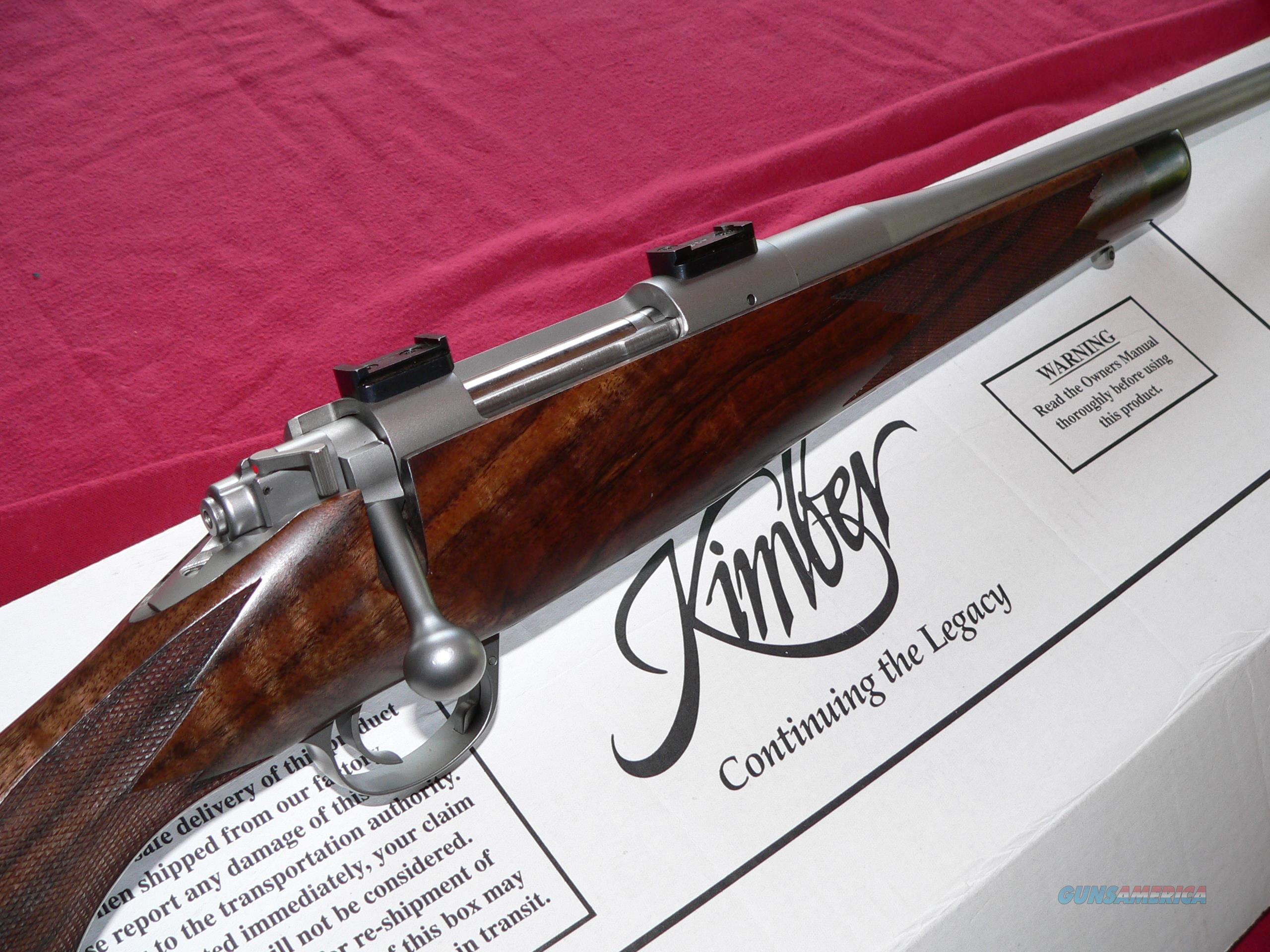 New In Box (NIB) Kimber Model 84M Classic Stainless cal. 7mm-08 Bolt-action Rifle.  Guns > Rifles > Kimber of America Rifles