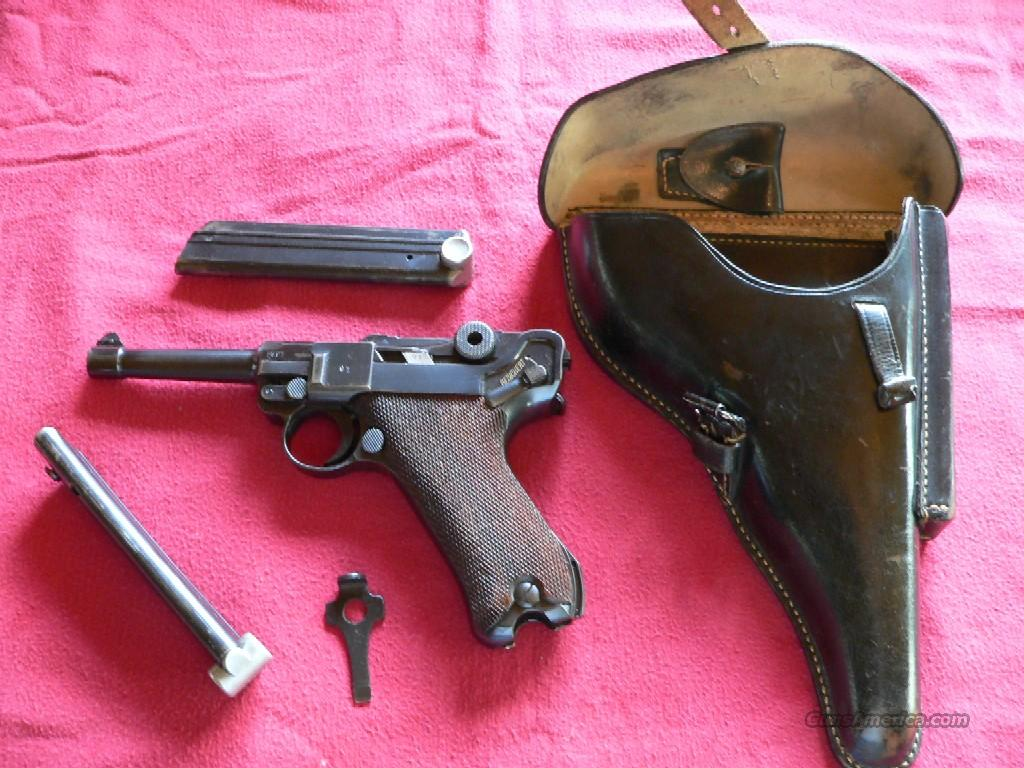 REDUCED Luger Model P-08 (1940-42) Pistol  Guns > Pistols > Luger Pistols