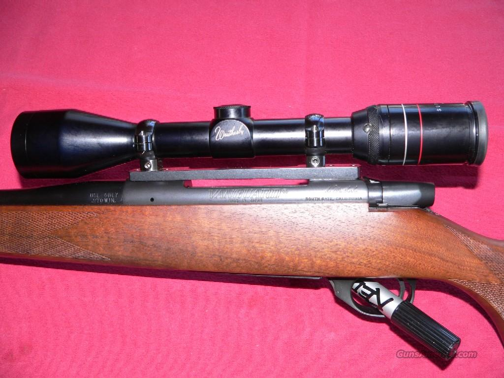 REDUCED Weatherby Model Vanguard cal. 270 Winchester Bolt-action Rifle  Guns > Rifles > Weatherby Rifles > Sporting