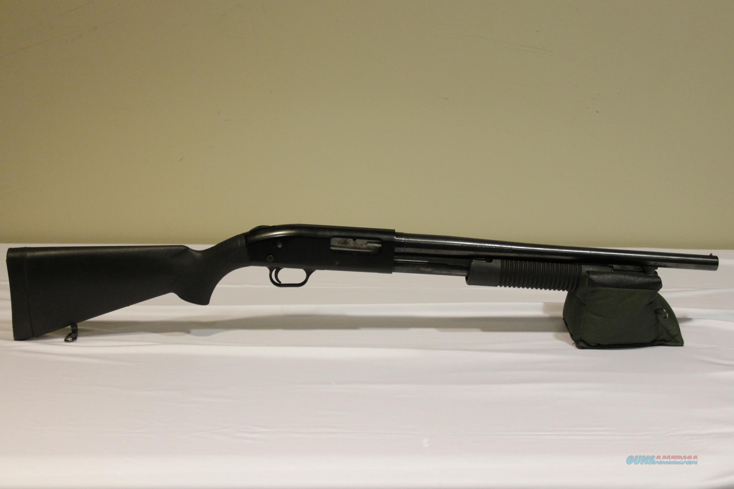 "Mossberg 500A 12 Gauge 18.5"" Shotgun - See Description  Guns > Shotguns > Mossberg Shotguns > Pump > Tactical"