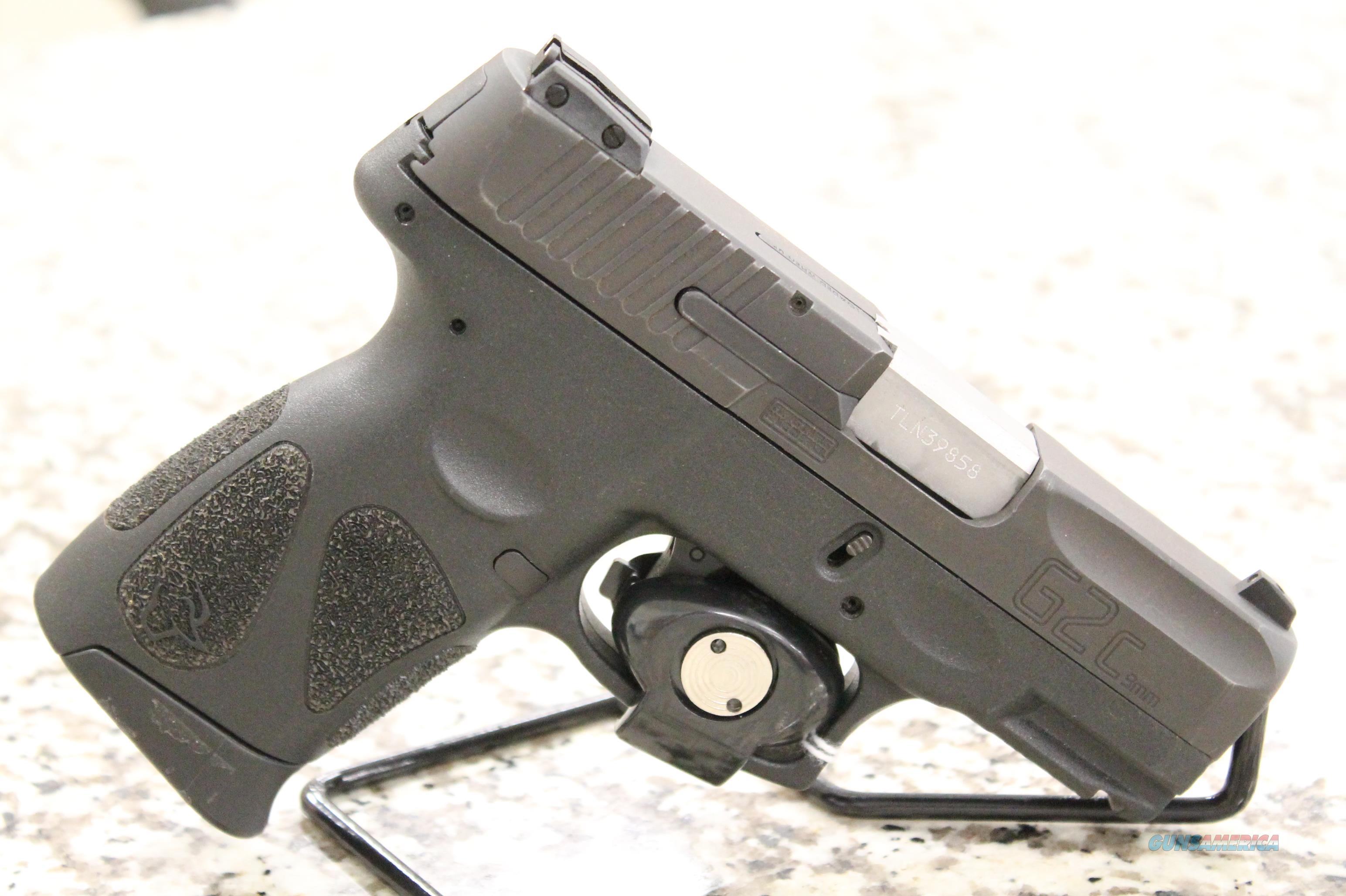 Taurus G2C 9mm Pistol + 2 Mags  Guns > Pistols > Taurus Pistols > Semi Auto Pistols > Polymer Frame