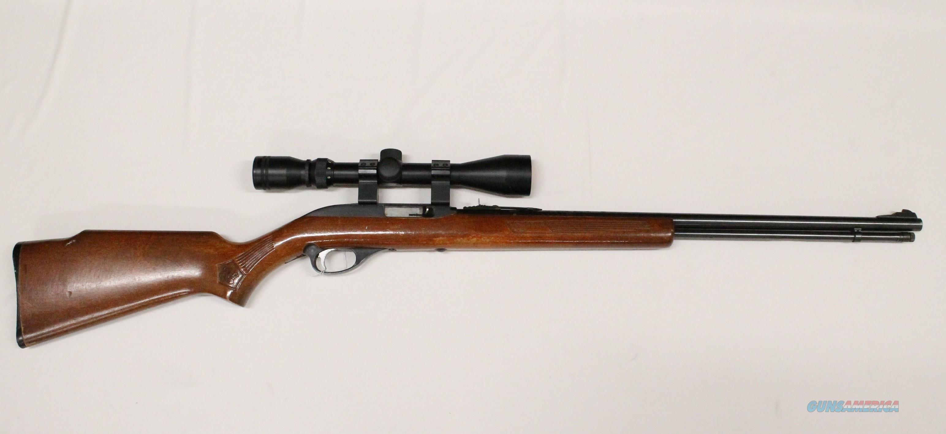 Marlin Glenfield Model 60 .22 L.R. Semi-Auto Rifle + Scope  Guns > Rifles > Marlin Rifles > Modern > Semi-auto