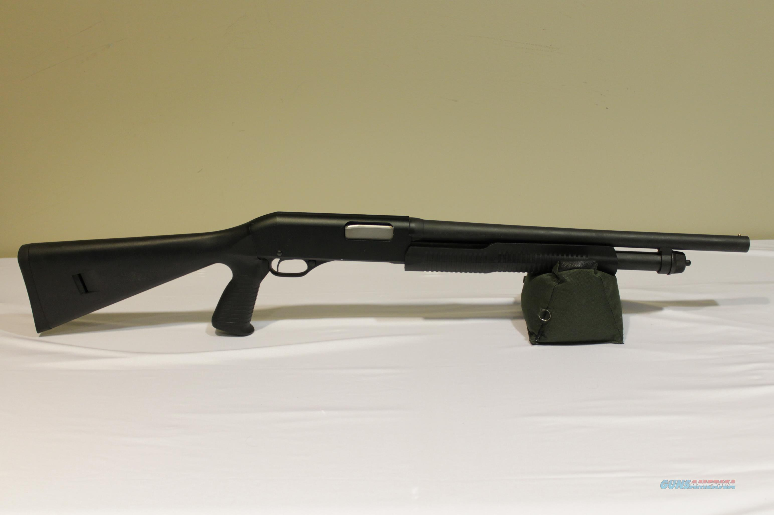 "Savage Arms Stevens 320 Security Pump Shotgun 18.5"" Barrel   Guns > Shotguns > Stevens Shotguns"