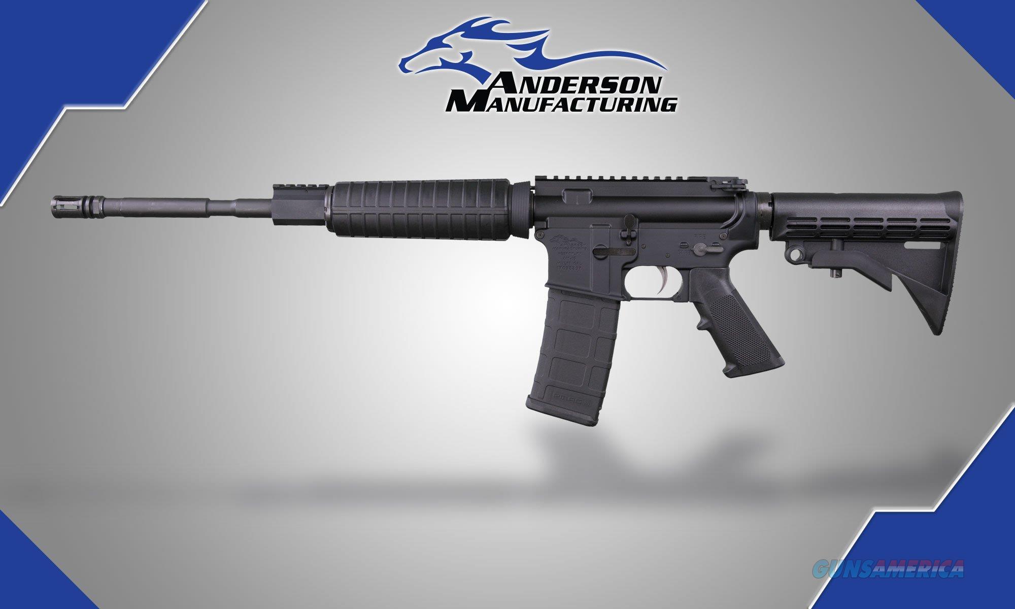 ANDERSON AM15-BR ORC SEMI AUTO RIFLE  Guns > Rifles > A Misc Rifles