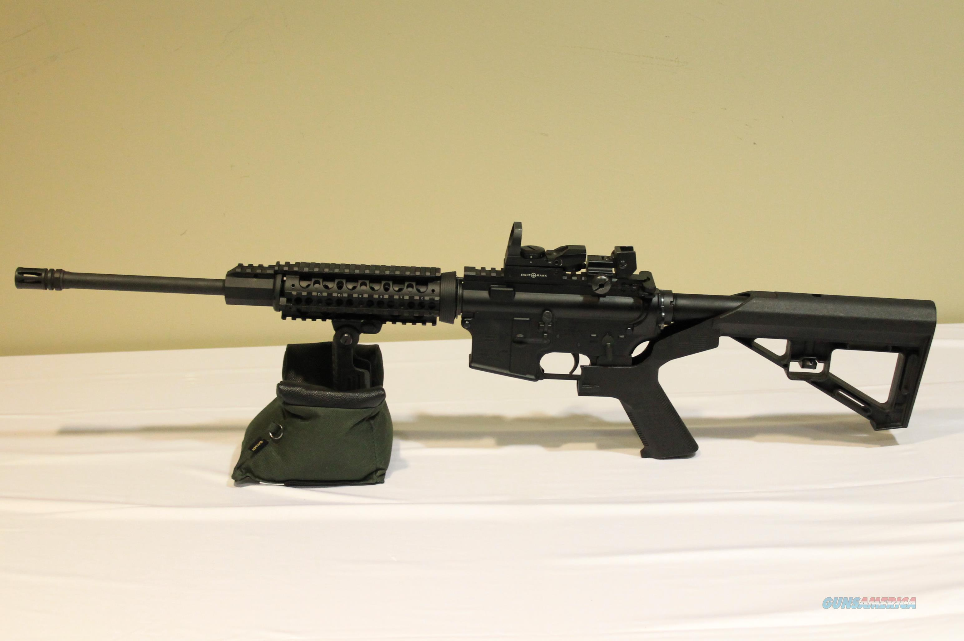 DPMS Panther Arms A-15 Rifle .223/5.56 + Fore Grip, Red Dot, Bump Fire Stock!  Guns > Rifles > DPMS - Panther Arms > Complete Rifle