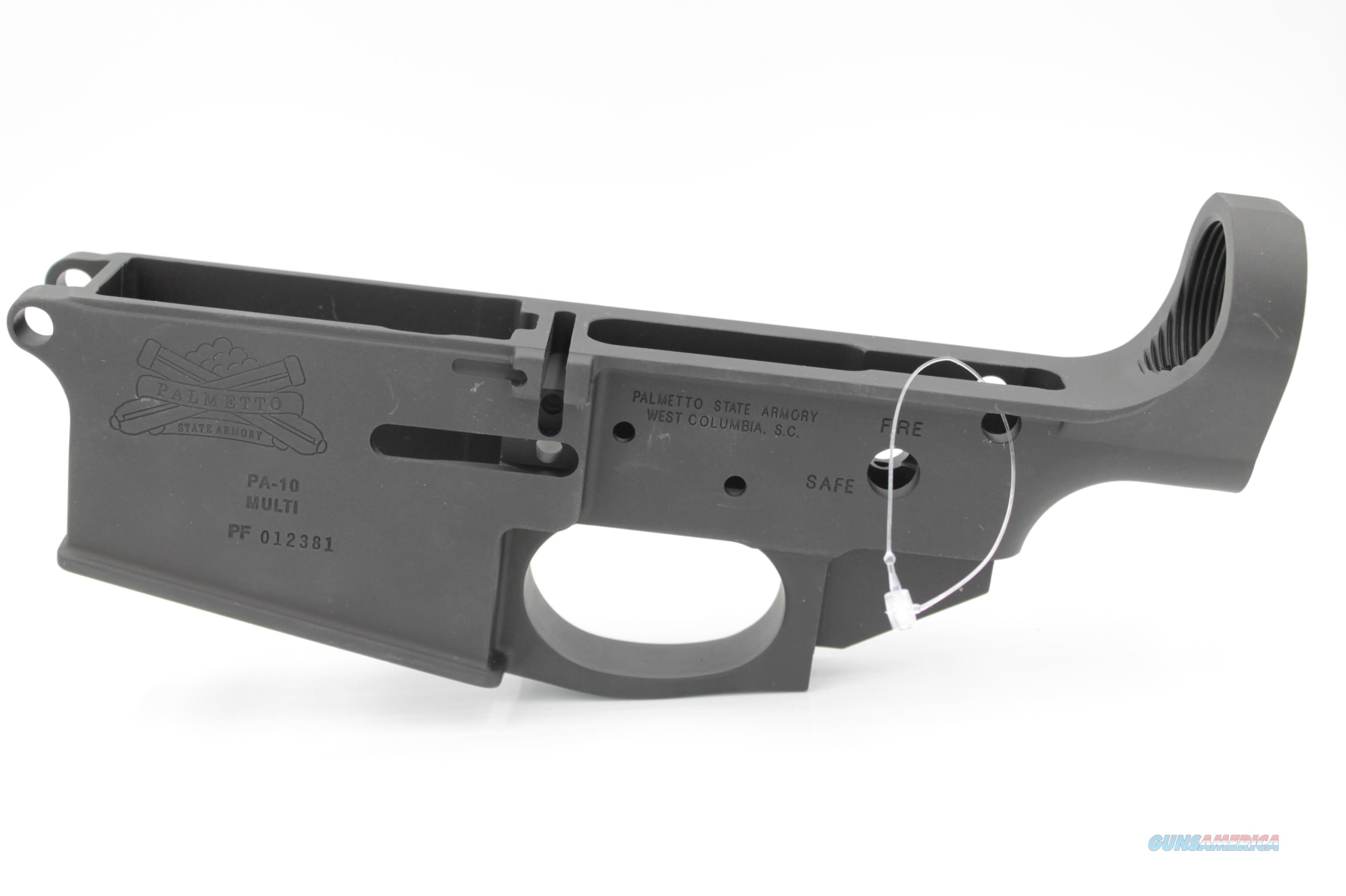 Palmetto State Armory PA-10 .308 Stripped Lower Receiver  Guns > Rifles > AR-15 Rifles - Small Manufacturers > Lower Only