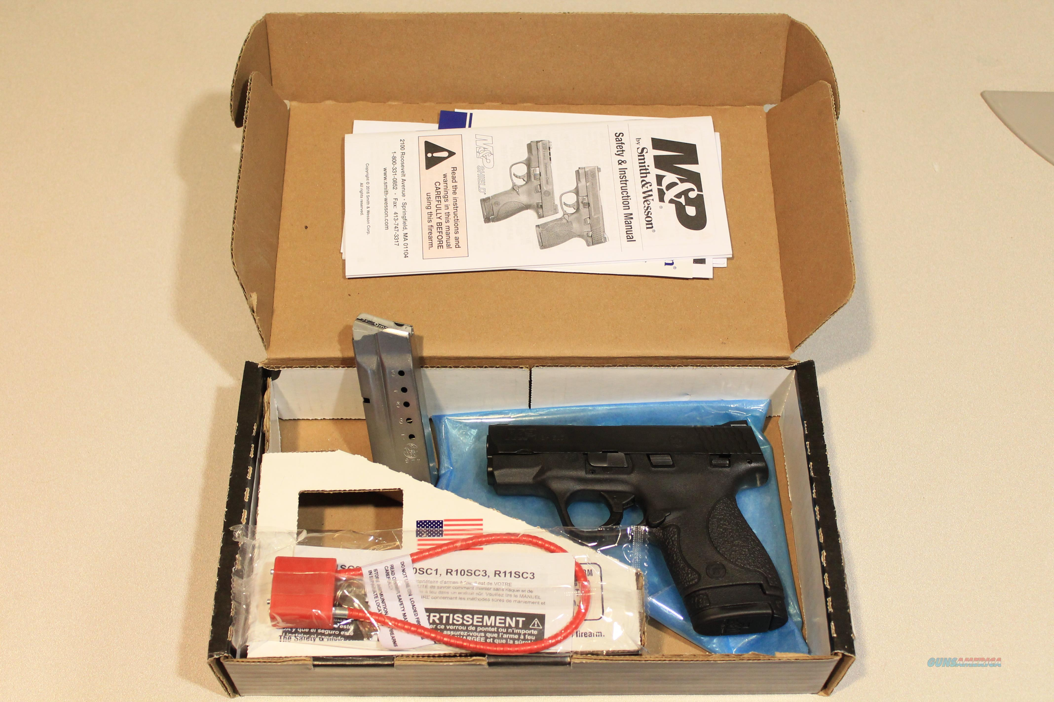 "Smith & Wesson M&P9 Shield 9mm Centerfire Pistol 3.125"" Barrel with Thumb Safety   Guns > Pistols > Smith & Wesson Pistols - Autos > Shield"