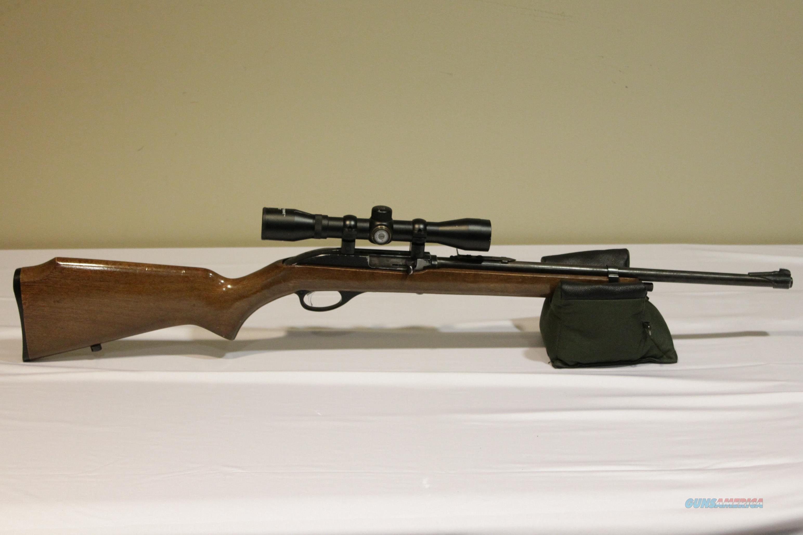 Marlin Firearms Glenfield Mod. 75 .22L.R. Rifle + Center Point 4x32 Scope  Guns > Rifles > Marlin Rifles > Modern > Semi-auto