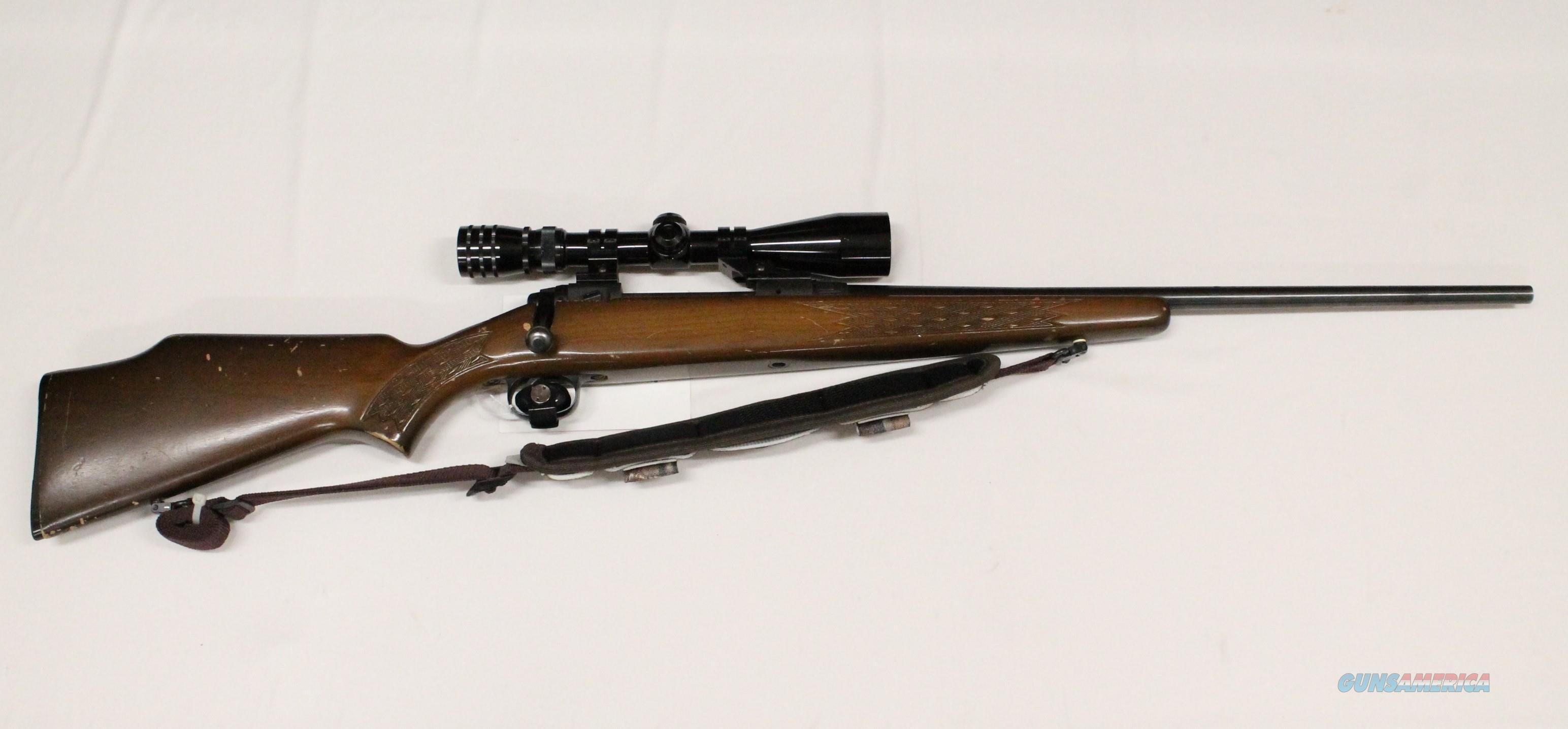 Stevens Model 110E Series K .30-06 Bolt Rifle + Scope  Guns > Rifles > Stevens Rifles