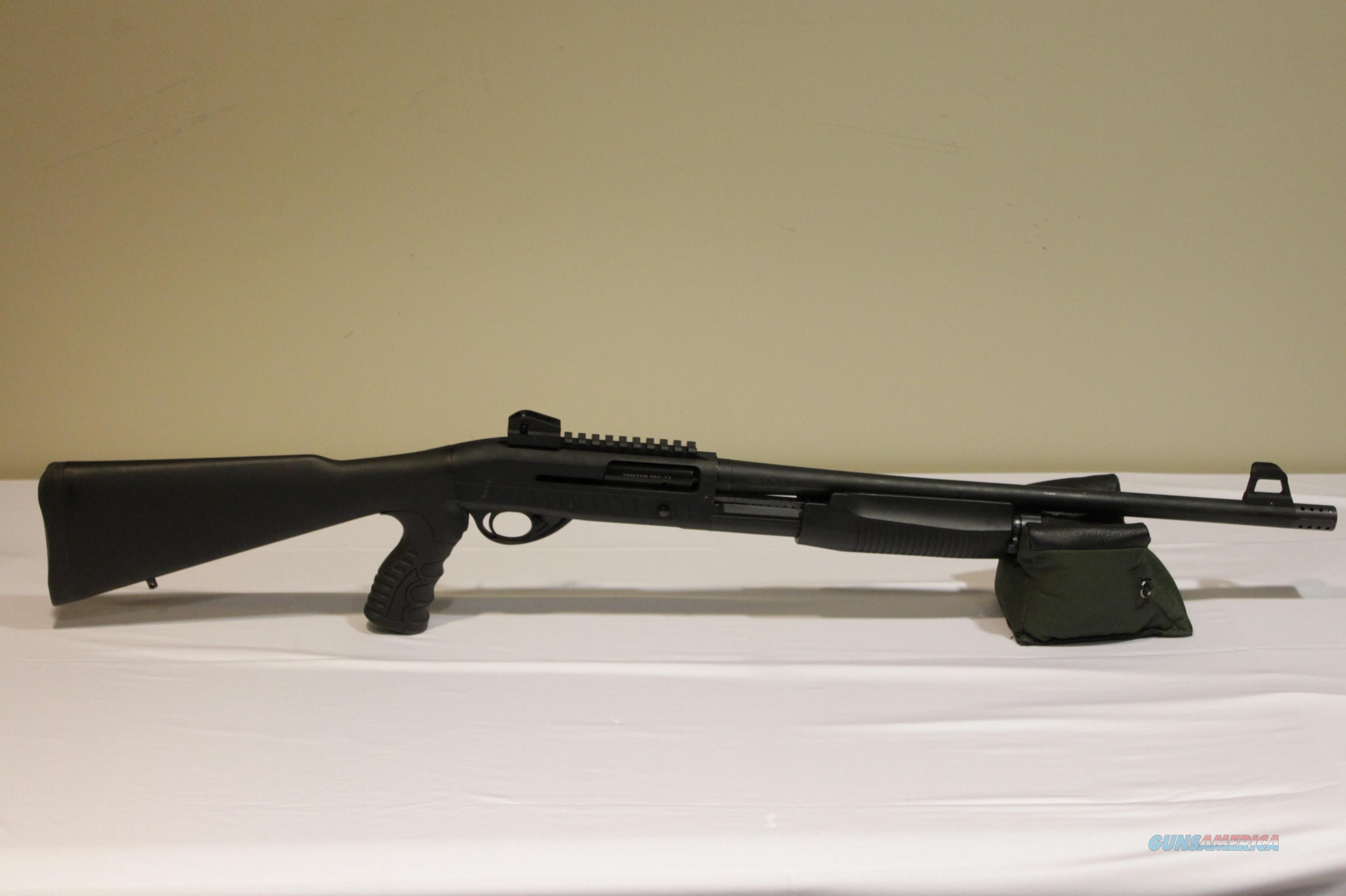 "TriStar 25120 TEC-12 Auto/Pump 12 Gauge 20"" 3"" 5+1 Synthetic w/ Pistol Grip Black  Guns > Shotguns > Tristar Shotguns"