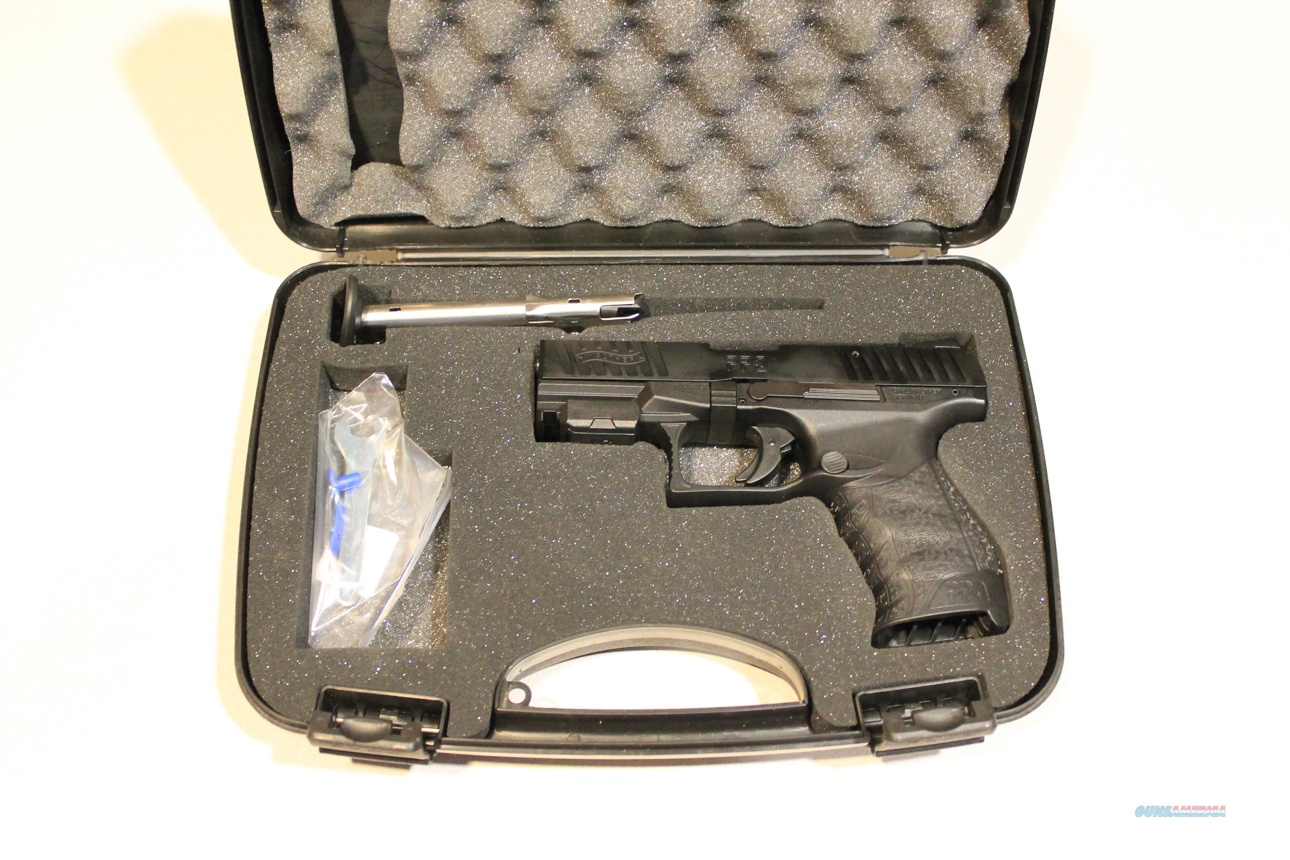 Walther PPQ 22LR Black Rimfire Pistol with 4-inch Barrel  Guns > Pistols > Walther Pistols > Post WWII > P99/PPQ