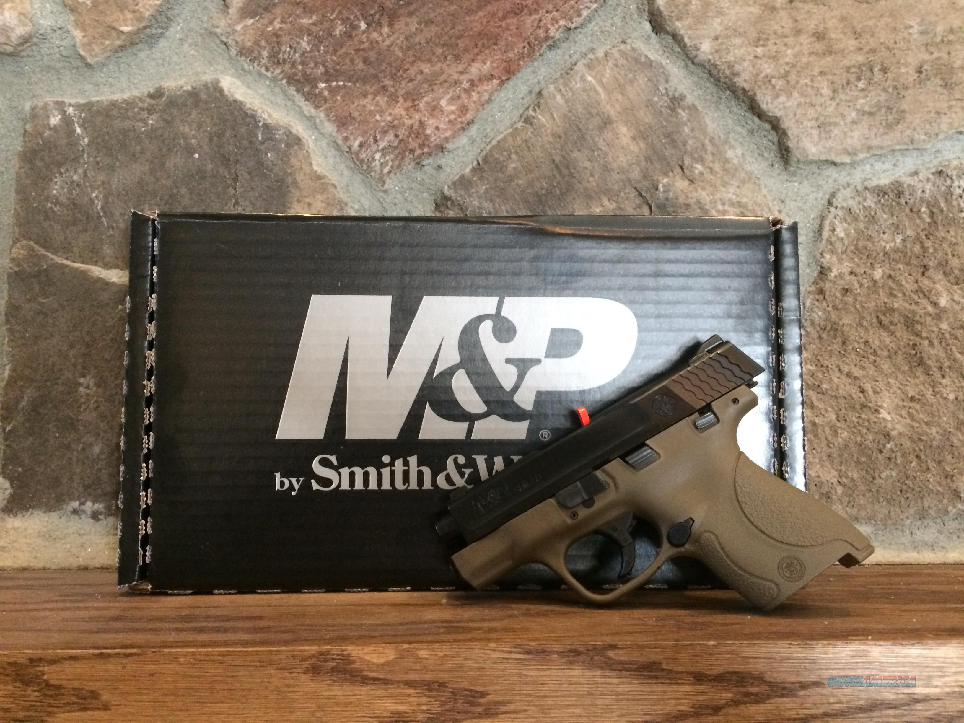 Smith & Wesson M&P9 Shield, FDE NIB  Guns > Pistols > Smith & Wesson Pistols - Autos > Shield