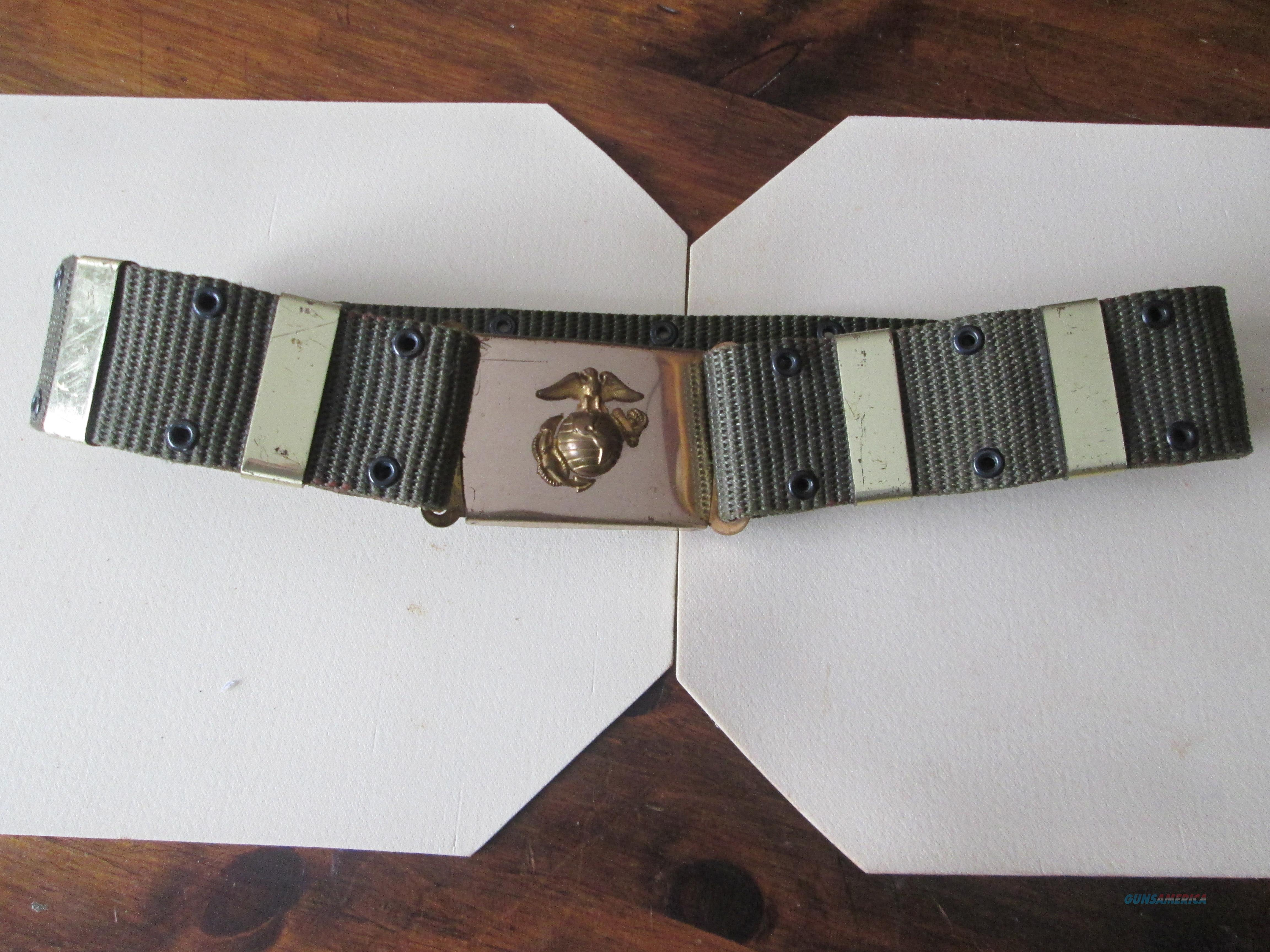 DI Belt & Buckle  Size 34-36  Non-Guns > Military > Web Gear