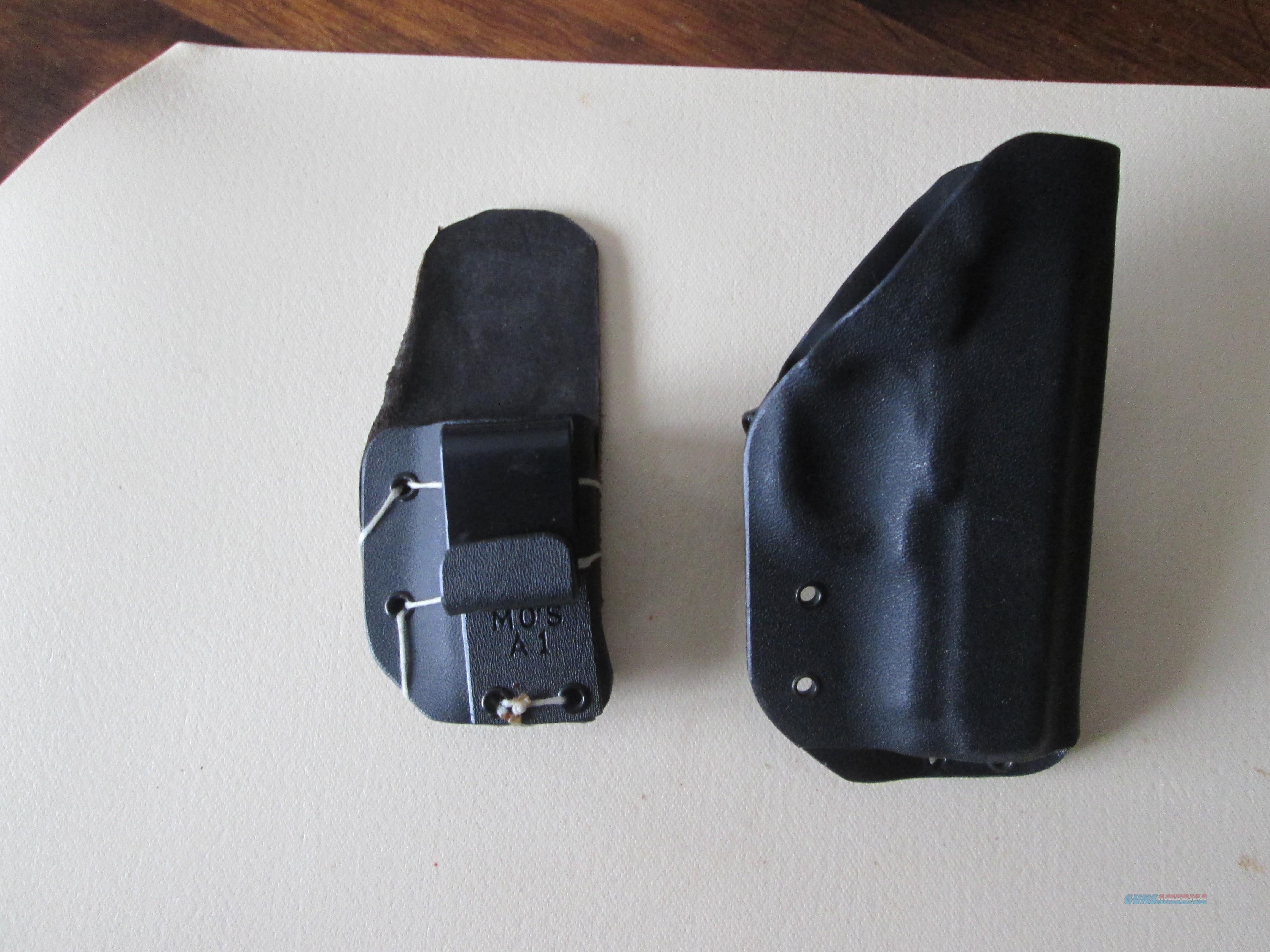 LH Kidex holster and Mag pouch for Compact 1911  Non-Guns > Holsters and Gunleather > Concealed Carry
