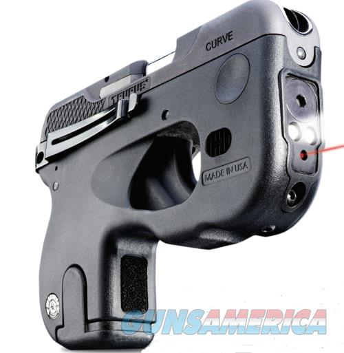 TAURUS 180 CURVE 380 ACP Compact Pistol With Laser AND Light  Guns > Pistols > Taurus Pistols/Revolvers > Pistols > Polymer Frame
