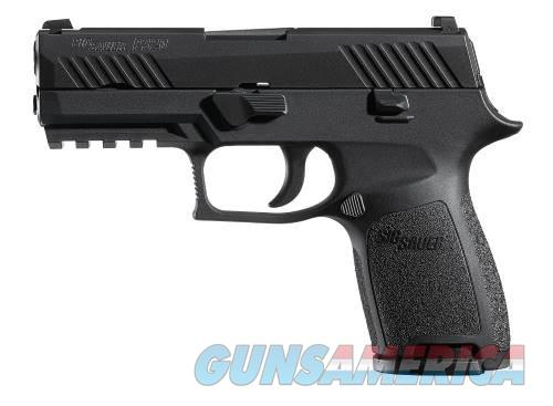 Sig Sauer P320 Black 9mm Handgun with Night Sights  Guns > Pistols > Sig - Sauer/Sigarms Pistols > P320