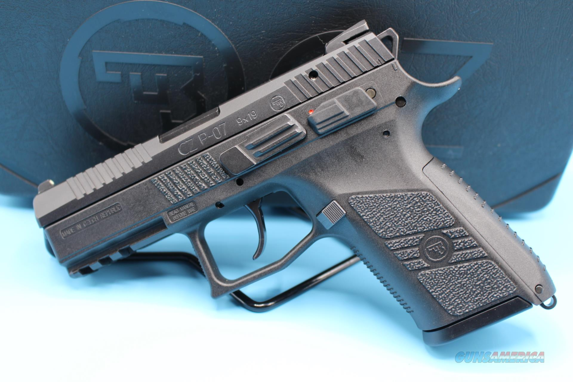 "CZ P-07 9MM 15+1 3.8"" WITH SAFETY HANDGUN NEW  Guns > Pistols > CZ Pistols"