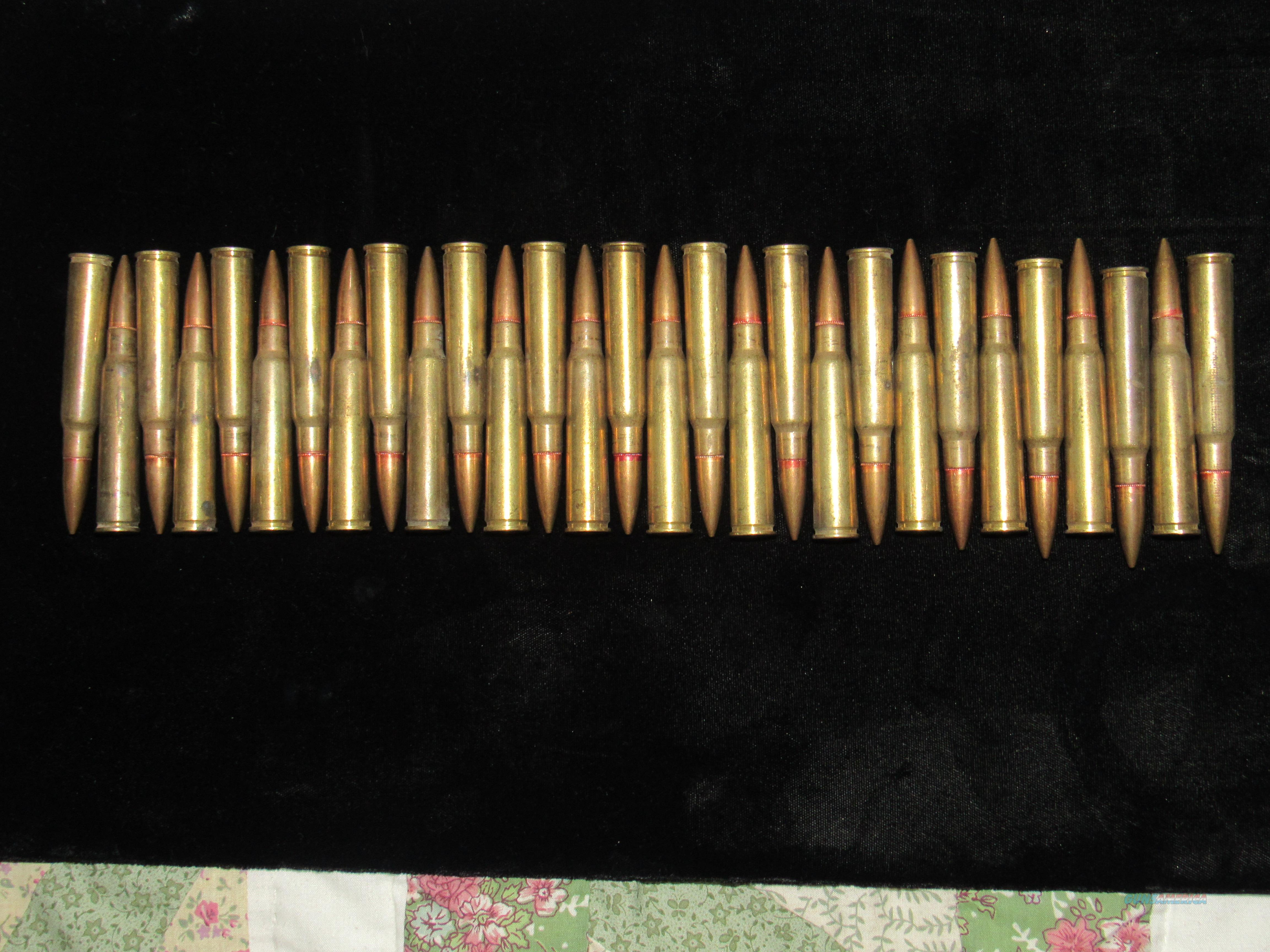 WWII 29 rounds Japanese 7.7x58 SR used in M/G Type 89 and Type 92  Non-Guns > Ammunition