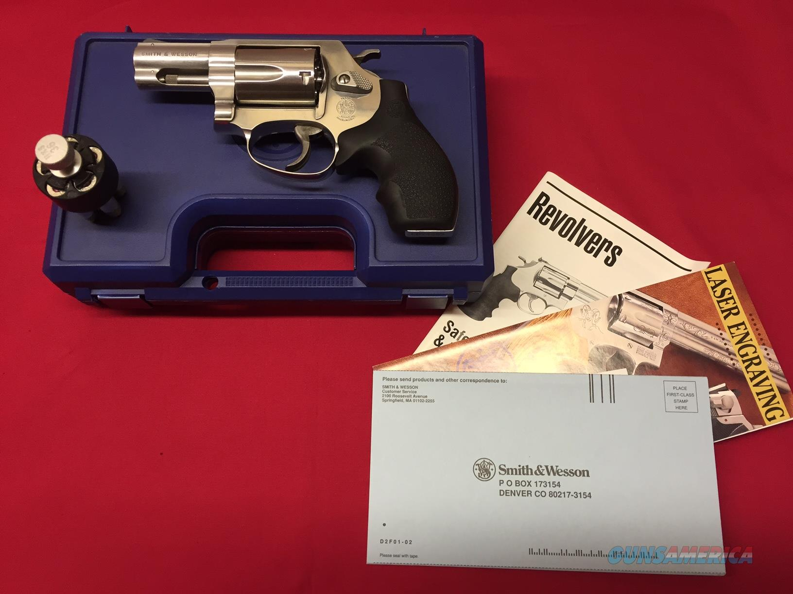 Smith & Wesson Model 60-9  Guns > Pistols > Smith & Wesson Revolvers > Full Frame Revolver