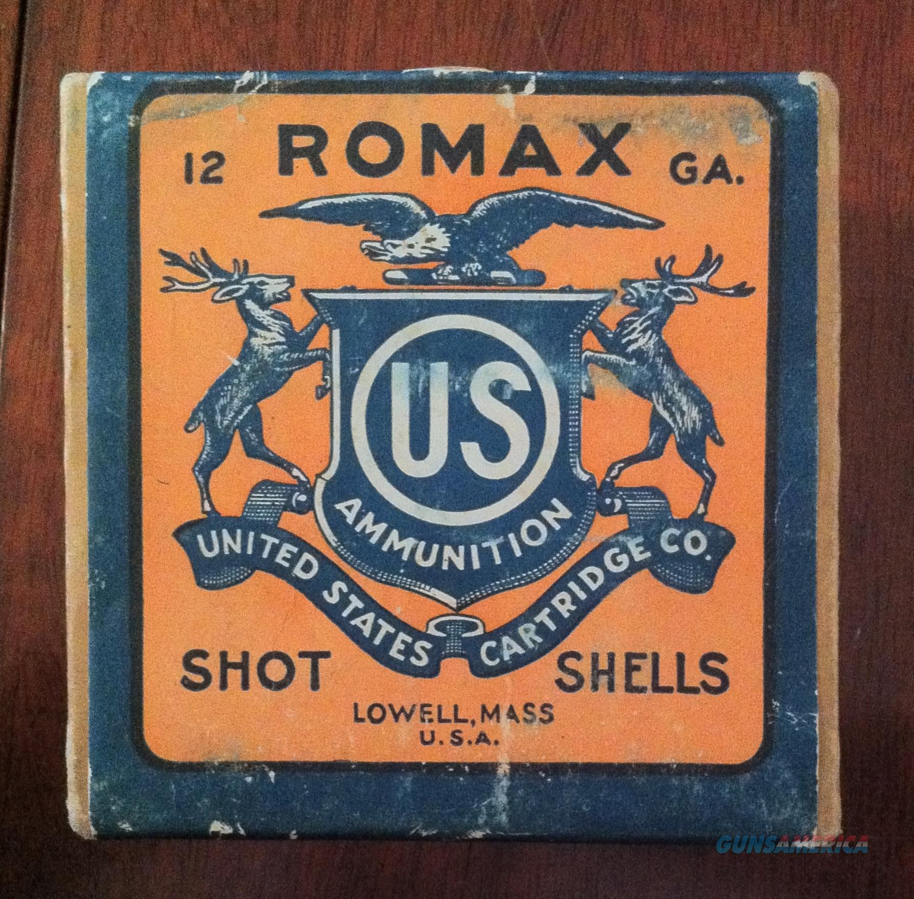 Romax US Cartridge Co. 12ga Shotgun Shells  Non-Guns > Ammunition
