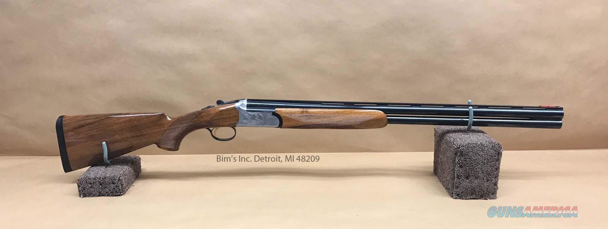 Sigarms SA3 Over Under 12 Gauge Stainless Engraved Shotgun  Guns > Shotguns > Sig - Sauer/Sigarms Shotguns