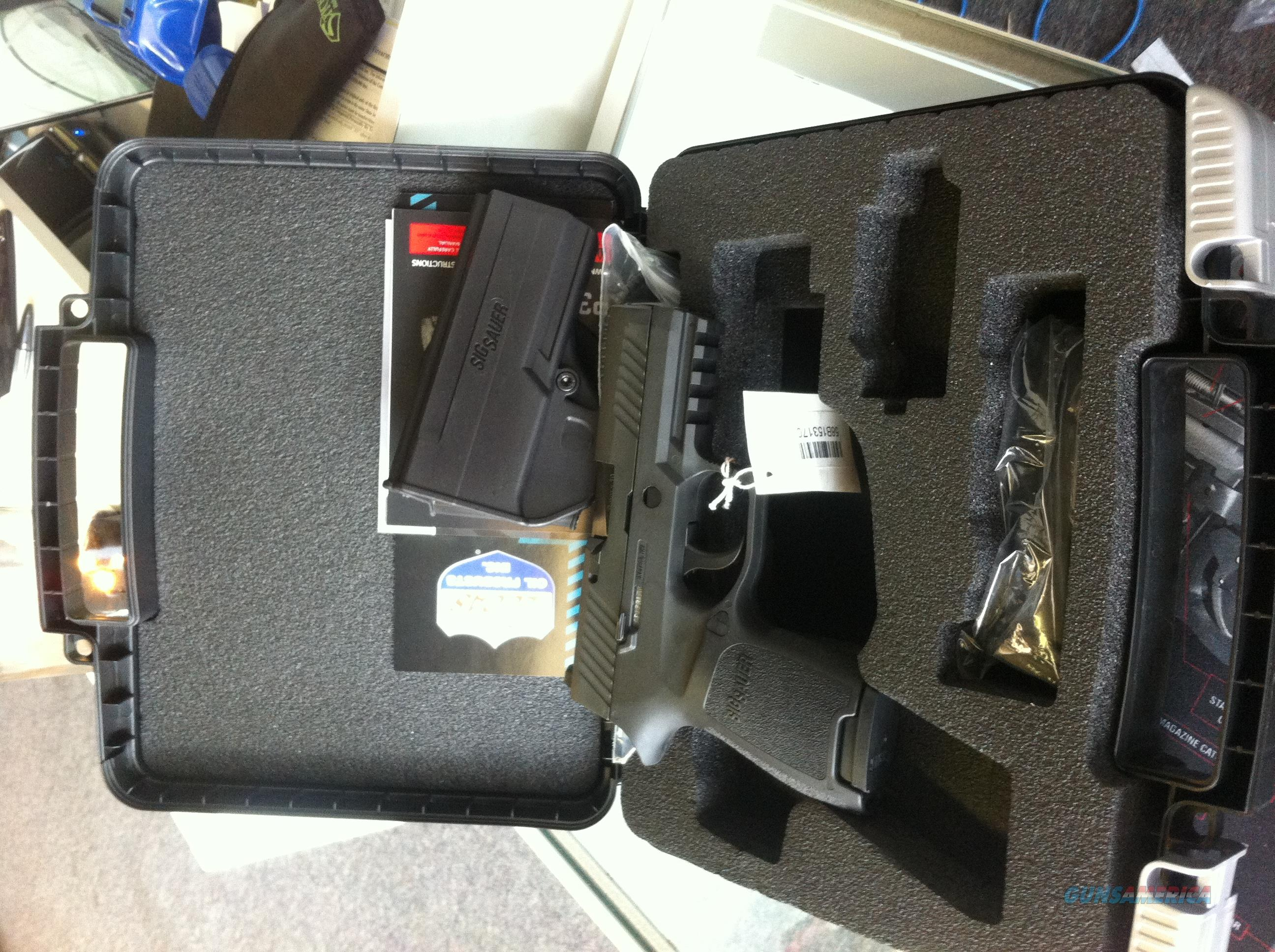 **BNIB SIG SAUER P320C COMPACT IN 9MM – BLACK!!!**  Guns > Pistols > Sig - Sauer/Sigarms Pistols > P320