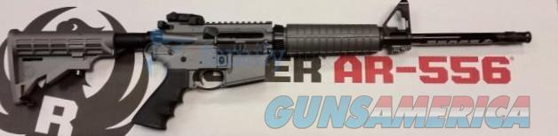 ** RUGER AR 556 5.56/223 cal AR15 TACTICAL GREY CERAKOTE NIB (08505)**  Guns > Rifles > Ruger Rifles > AR Series
