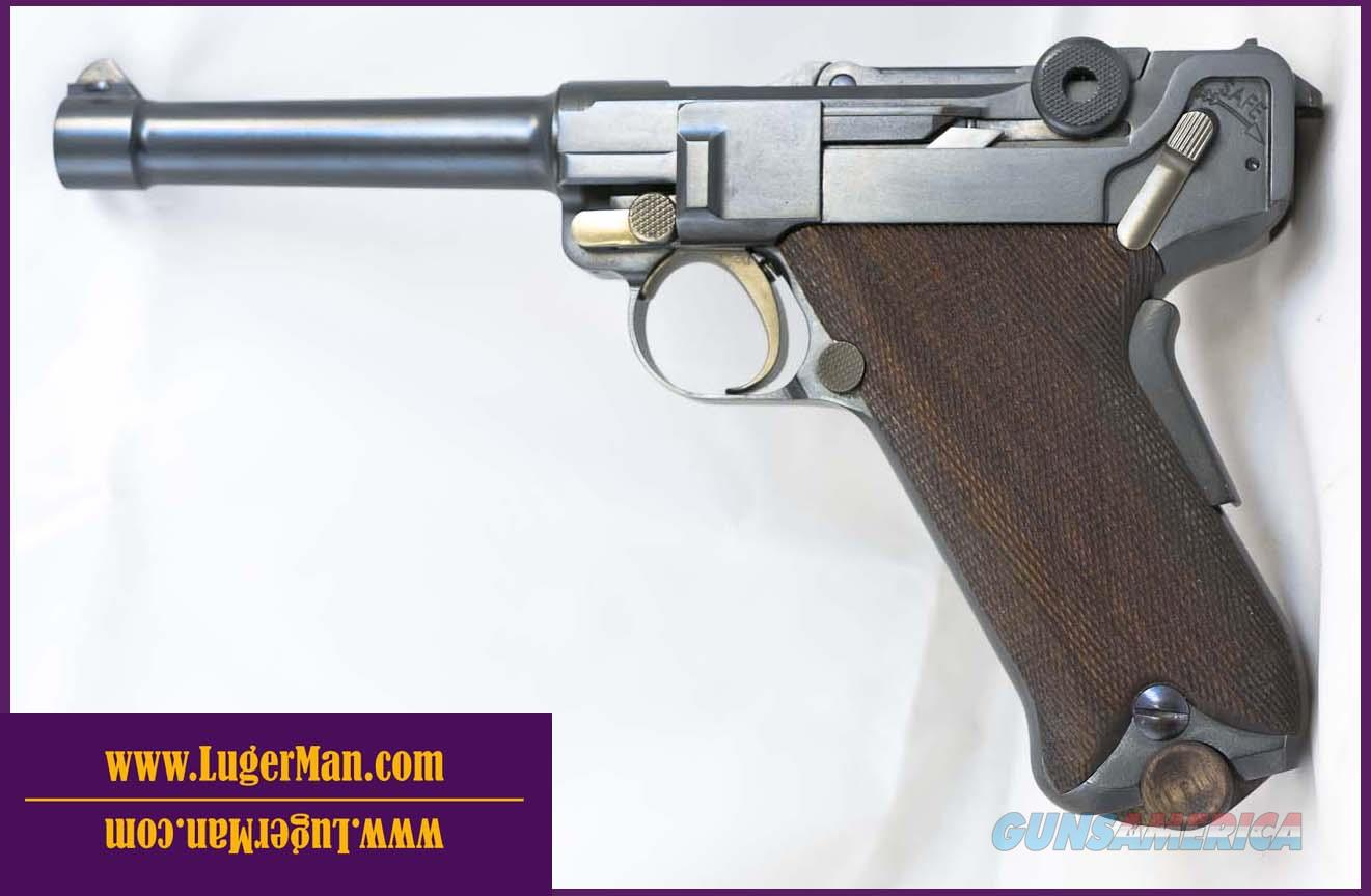 Luger 45 US Army Trial Luger 1907 Reproduction of DWM . Functions like 1906 P08 Model but in 45ACP  Guns > Pistols > Luger Pistols