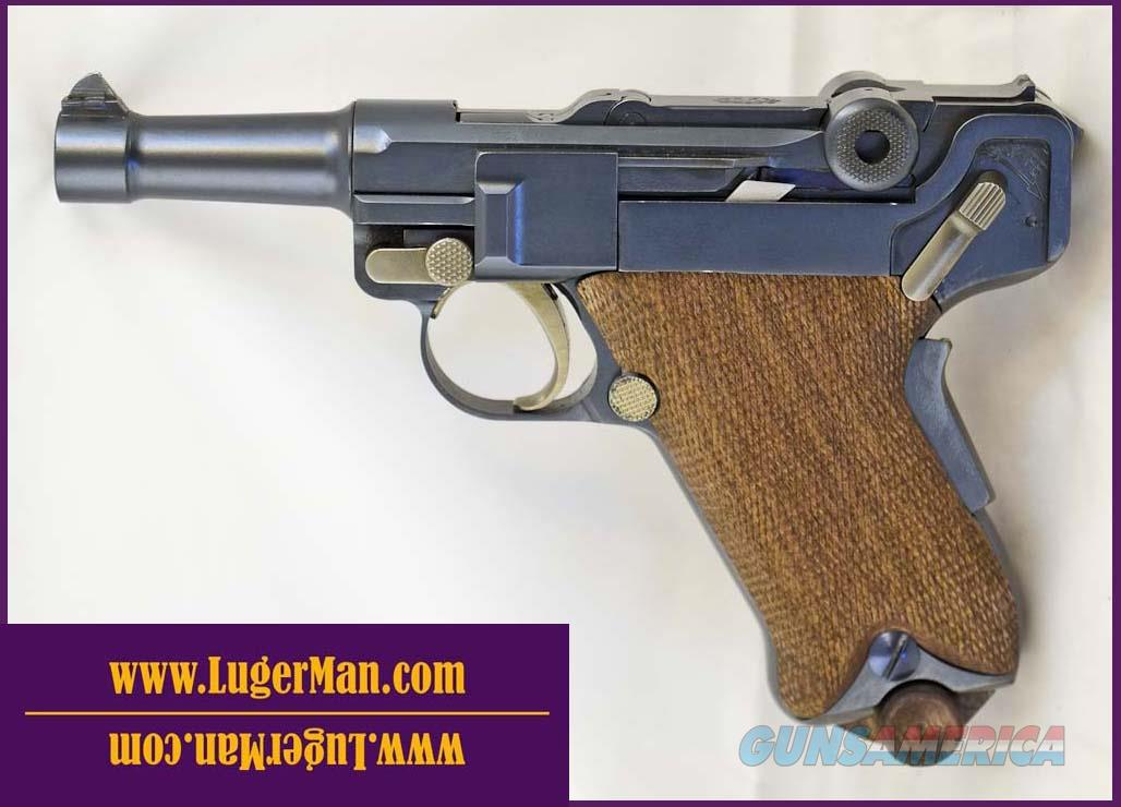 Luger 45 Custom Baby 1907 - Commander size like DWM . Functions similar to 1906 P08 Model but in 45ACP  Guns > Pistols > Luger Pistols