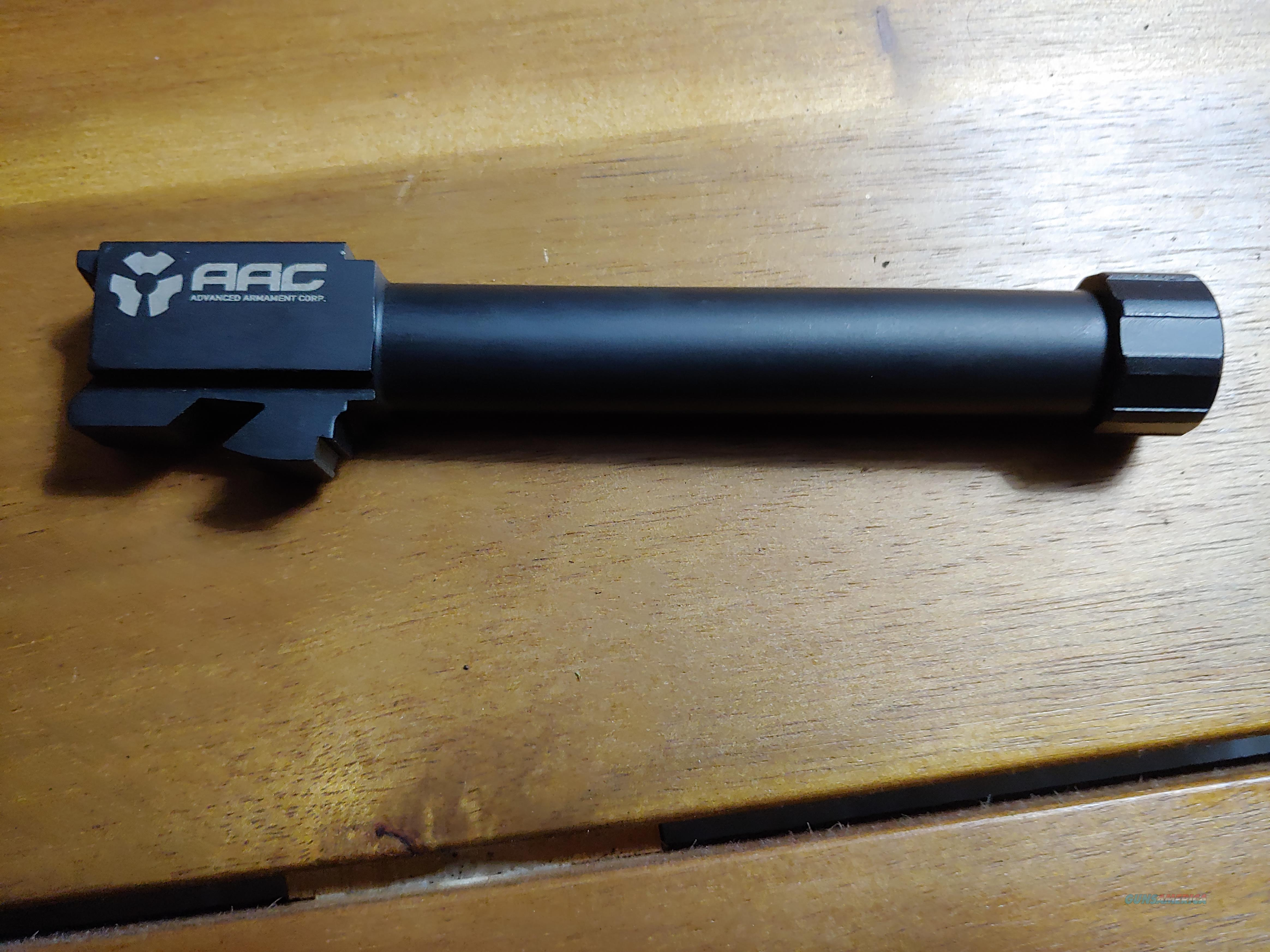 AAC Glock 17 Threaded Barrel  Non-Guns > Barrels