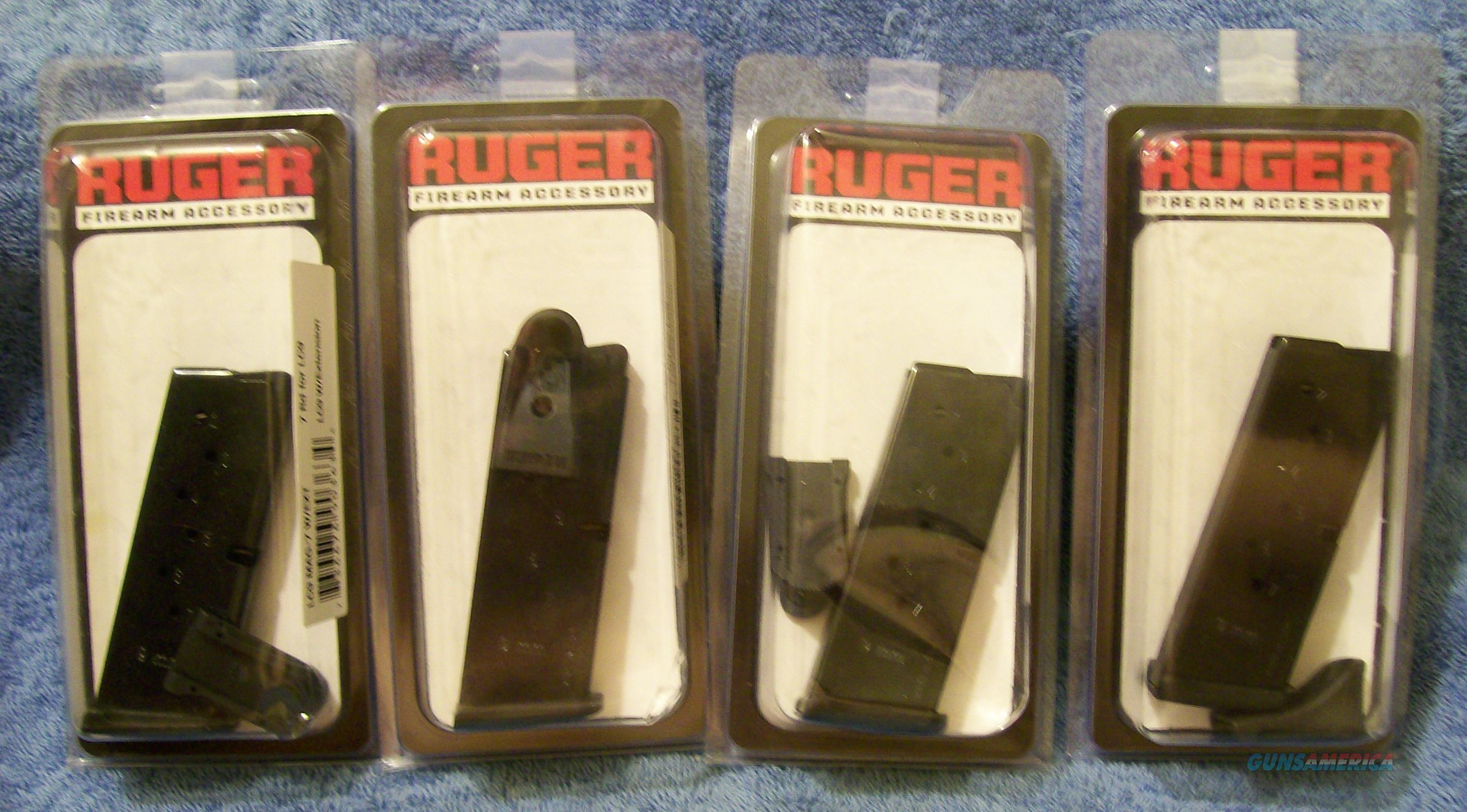 4 - Ruger 7rd factory new LC9 magazines Made in Italy  Non-Guns > Magazines & Clips > Pistol Magazines > Other