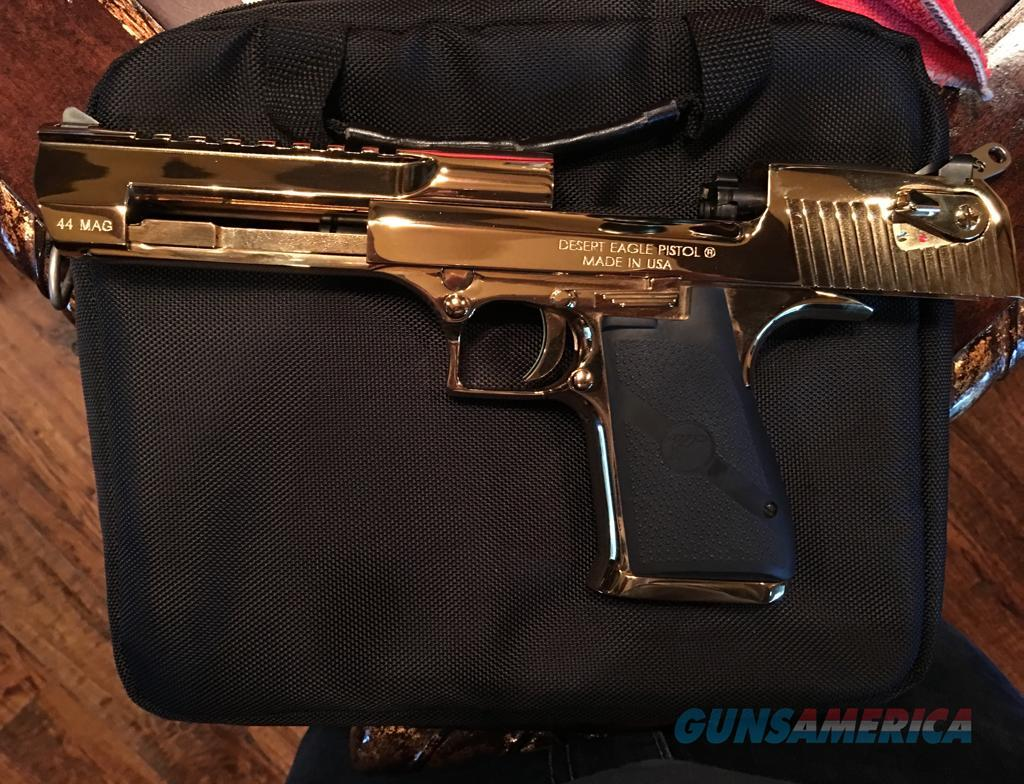 Desert Eagle .44 magnum 18k Gold Plated   Guns > Pistols > Magnum Research Pistols