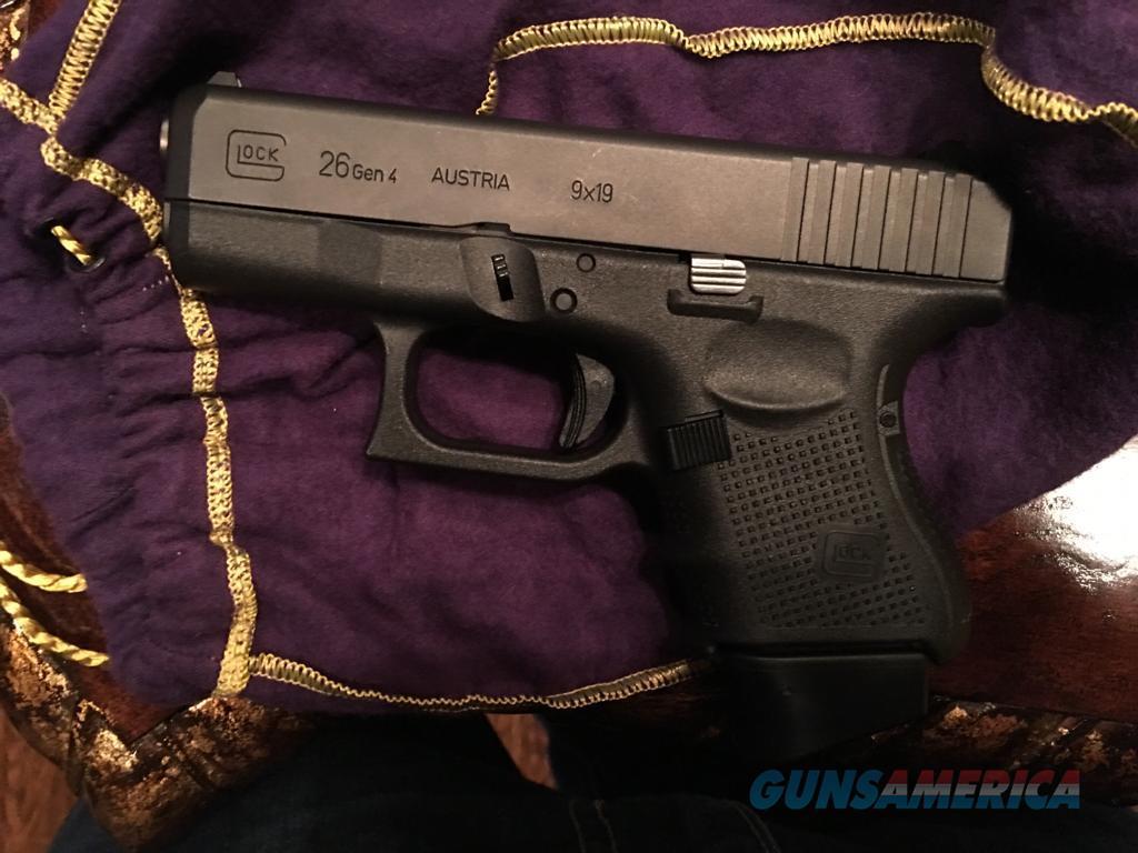 GLOCK 26 GEN 4  Guns > Pistols > Glock Pistols > 26/27