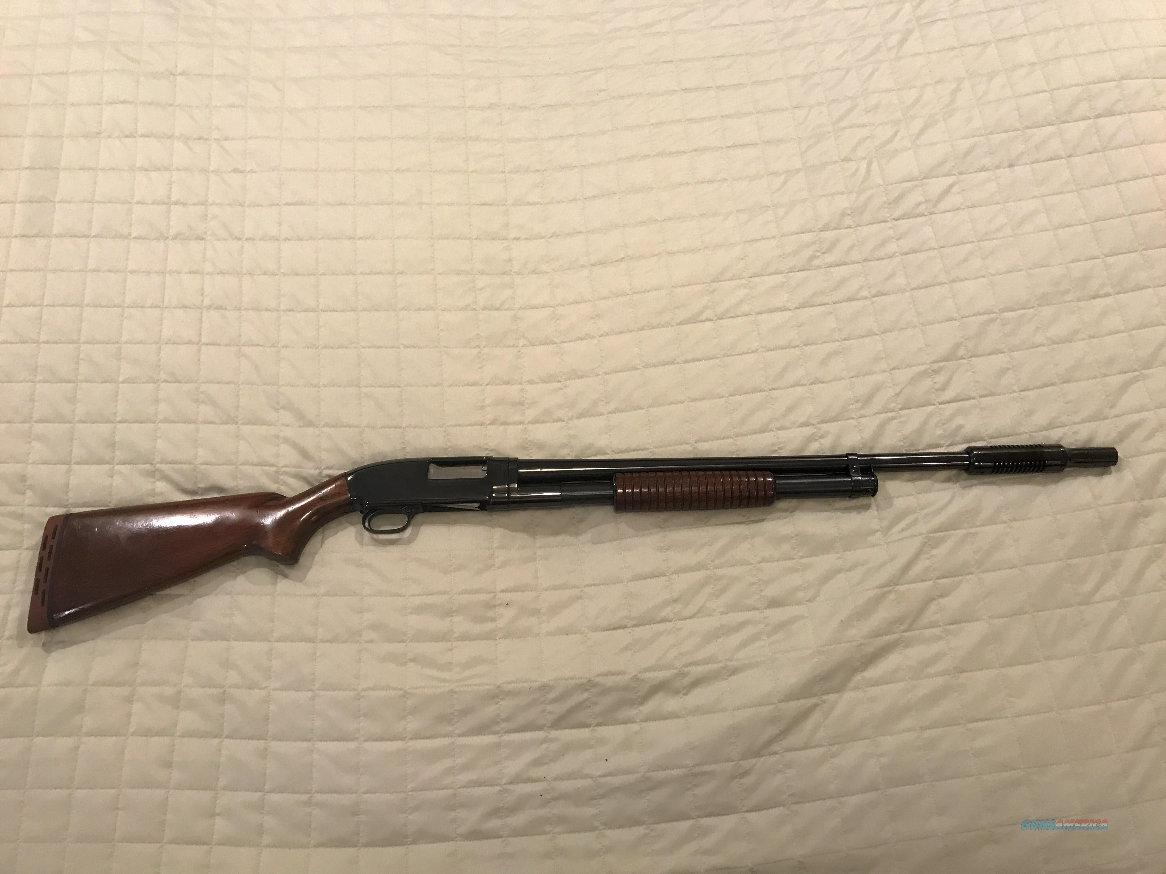WINCHESTER MODEL 12, 28IN FULL,MFG 1939, TAKEDOWN MODEL. CUTTS COMP  Guns > Shotguns > Winchester Shotguns - Modern > Pump Action > Hunting
