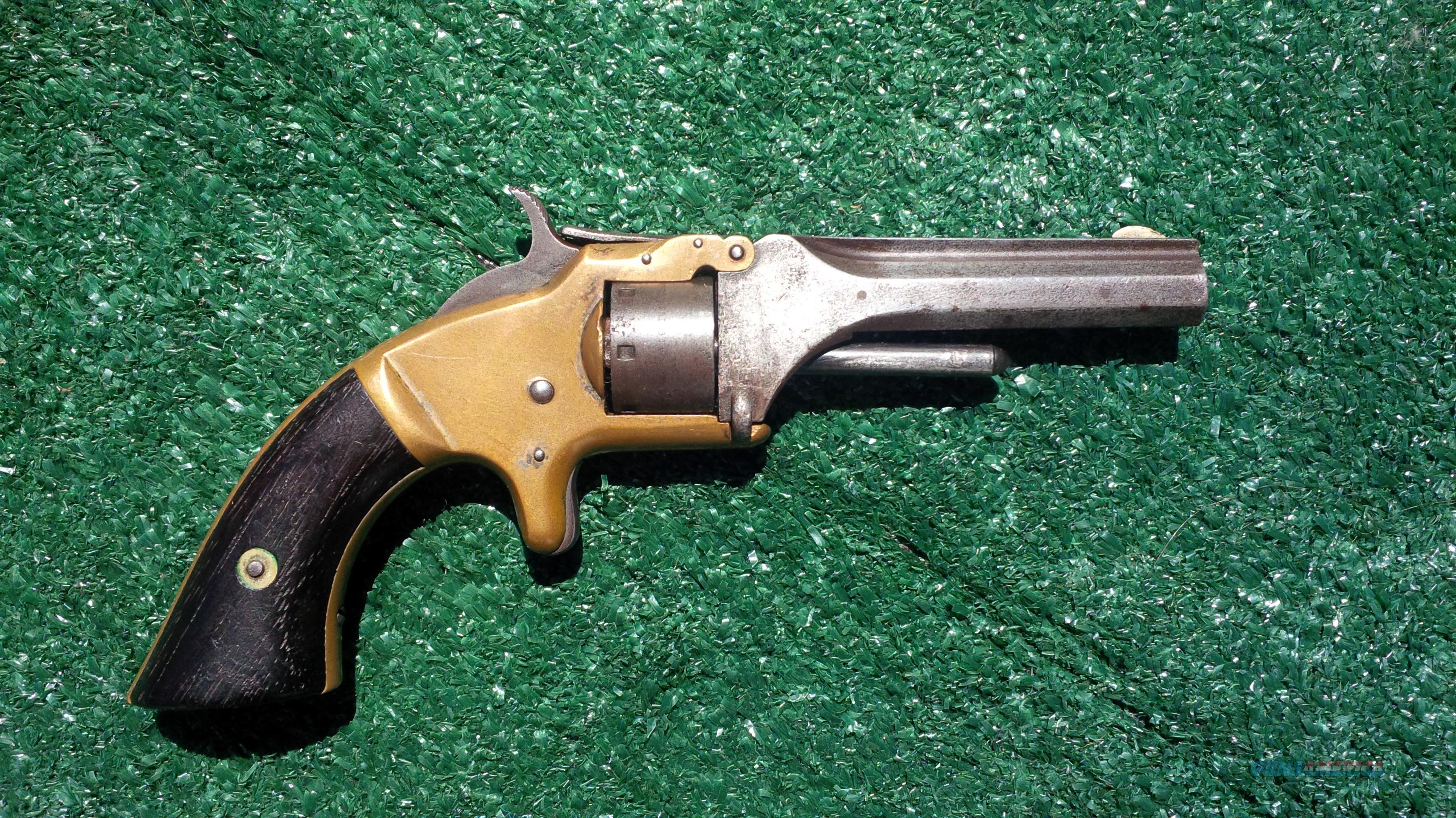 Smith & Wesson #1 Model .22 short (black powder only) Revolver PRICE REDUCED!!! Was $350.00 Now $265.00  Guns > Pistols > Smith & Wesson Revolvers > Pre-1899