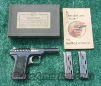 "Savage 1907 Model .32 Caliber Semi-automatic ""Pocket Pistol"".  Guns > Pistols > Savage Pistols"