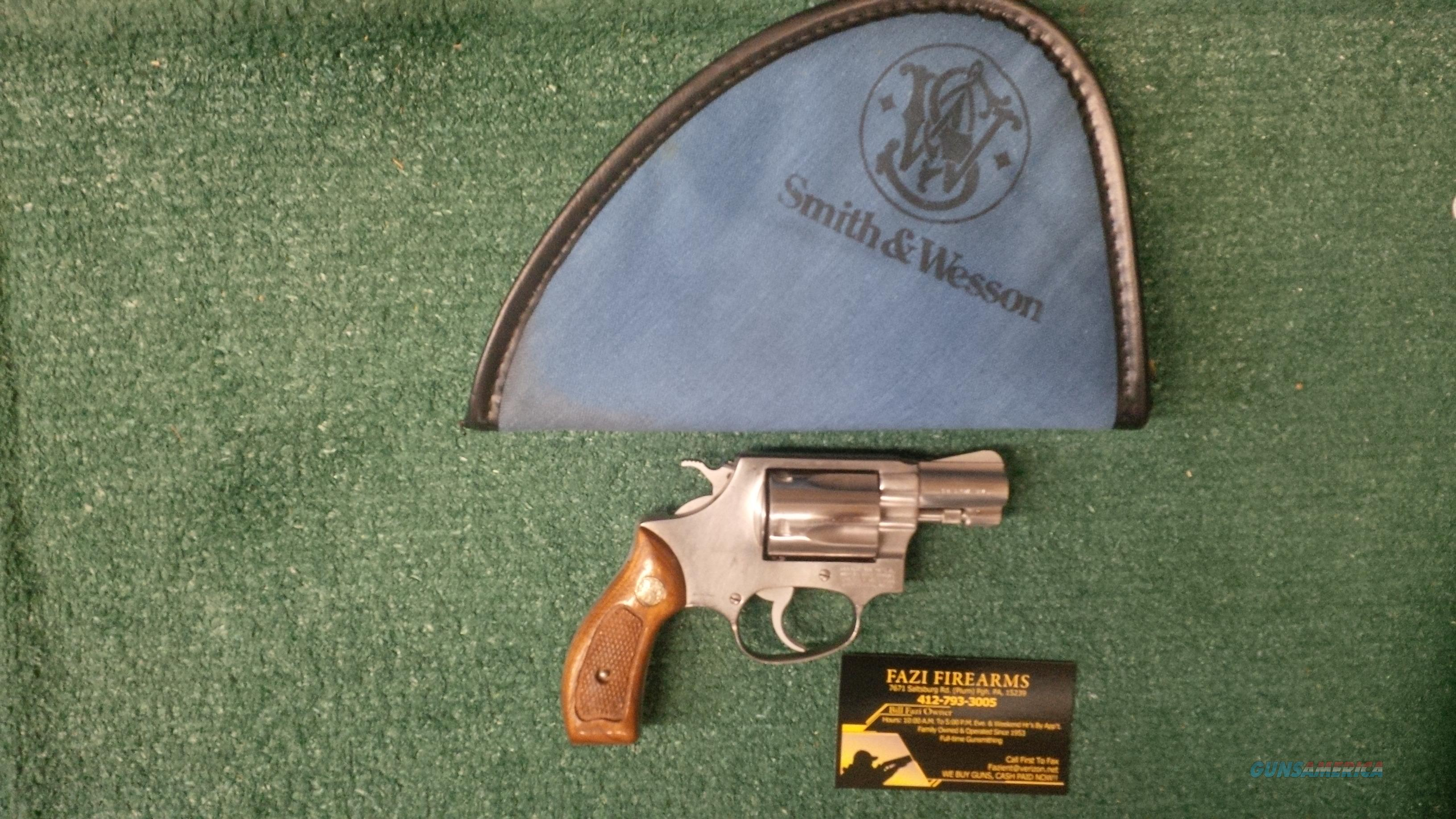 Smith & Wesson 60 .38 Special 5 Shot Chiefs Special  Guns > Pistols > Smith & Wesson Revolvers > Small Frame ( J )