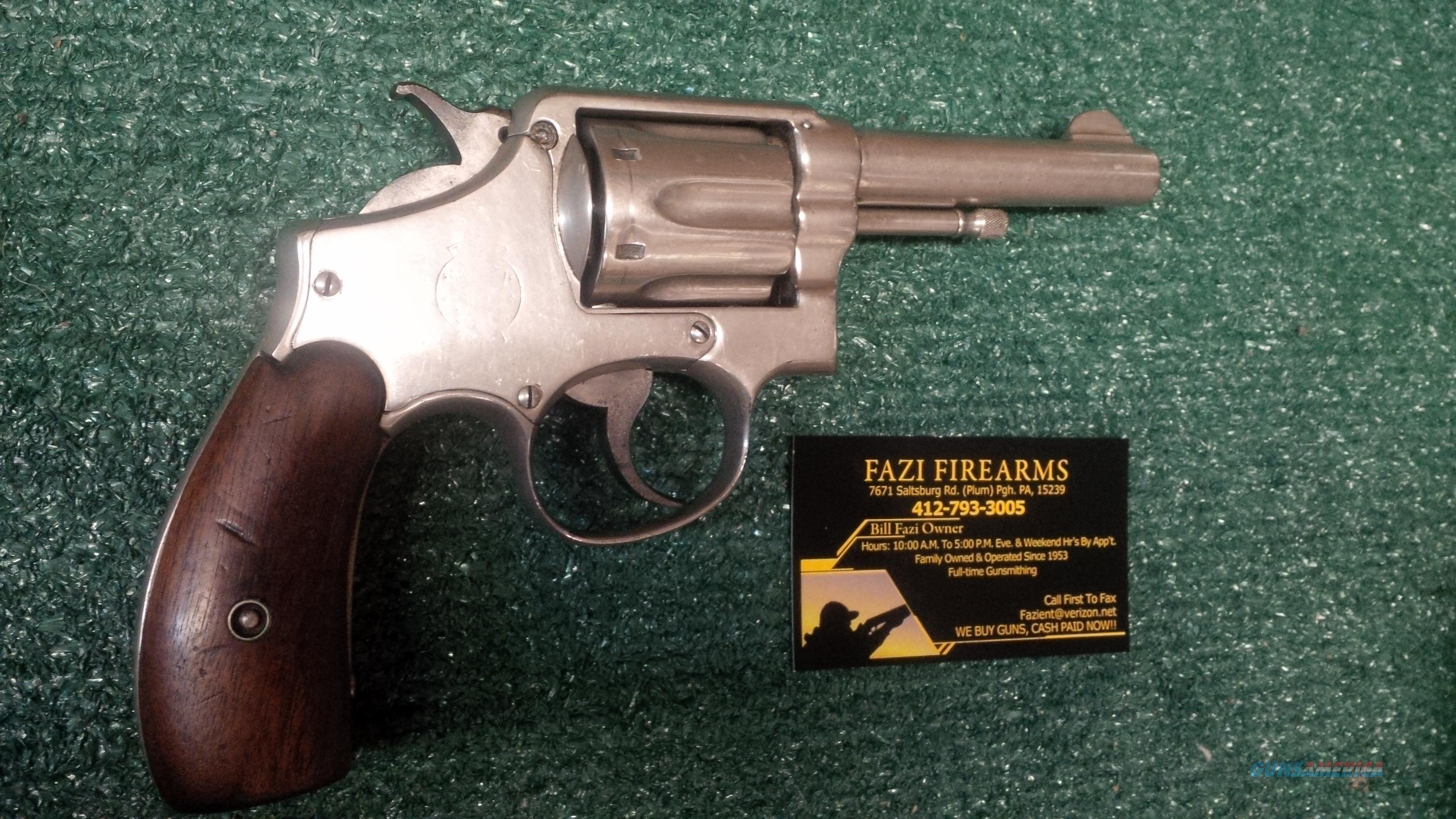 Smith & Wesson .38 Military & Police First Model (Model of 1899)   Guns > Pistols > Smith & Wesson Revolvers > Pre-1945